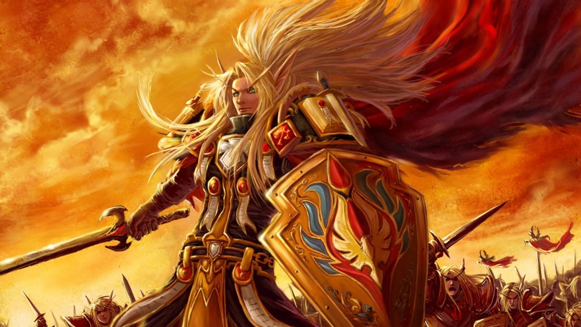 World Of Warcraft Wallpaper 1920x1080: World Of Warcraft Wallpaper HD Paladin (74+ Images