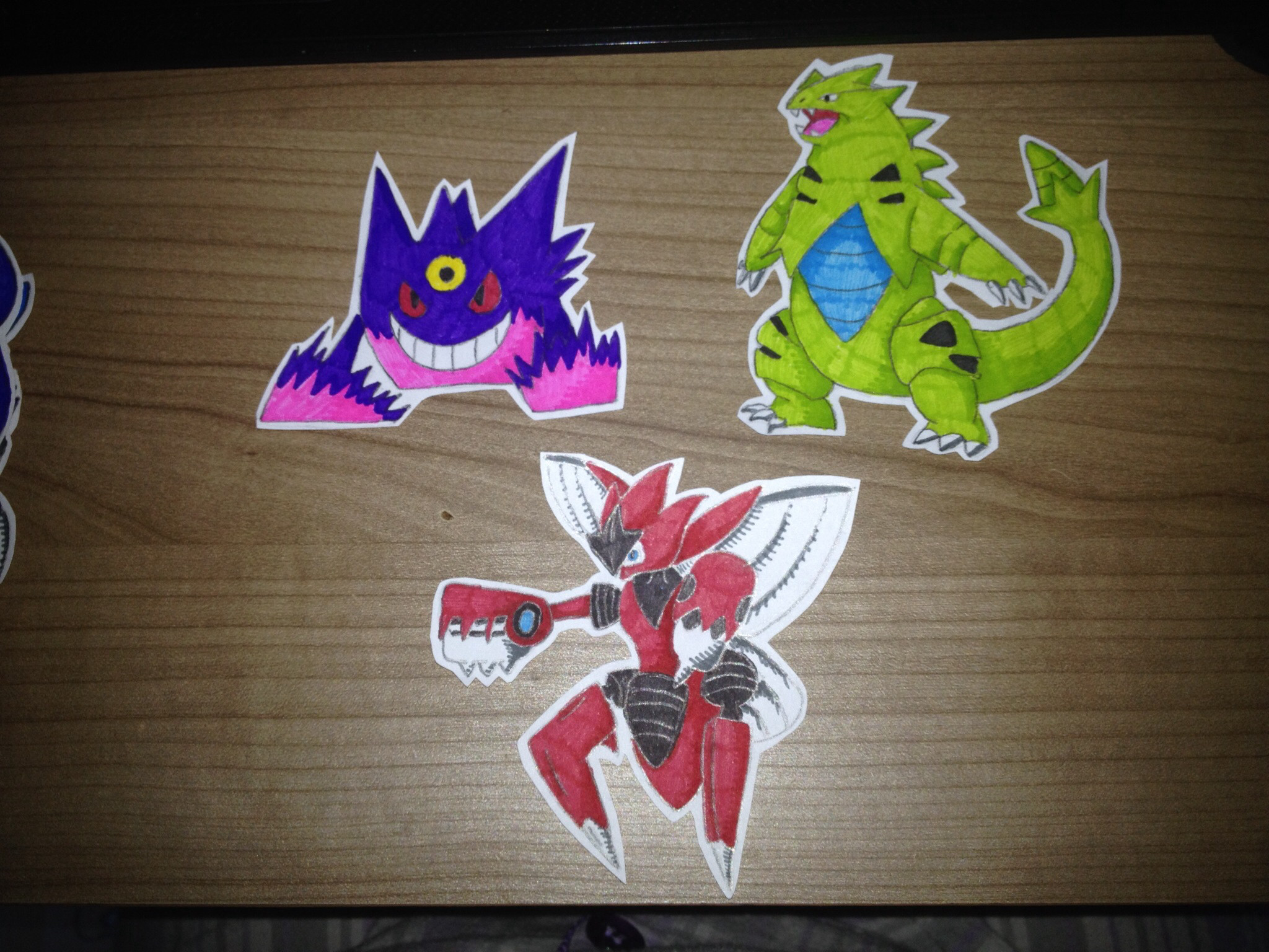 2048x1536 Mega Gengar, Mega Scizor and Tyranitar by Music-Loverrr on DeviantArt
