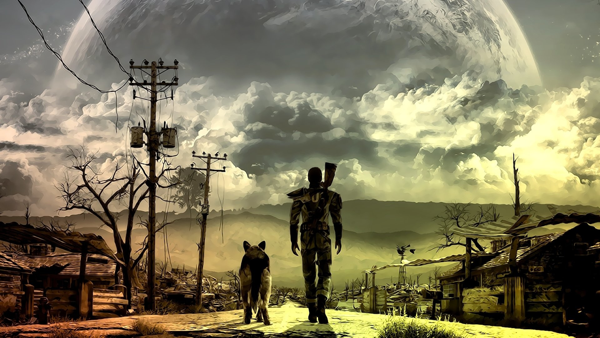 1920x1080 HD Wallpaper | Background ID:324425.  Video Game Fallout 3