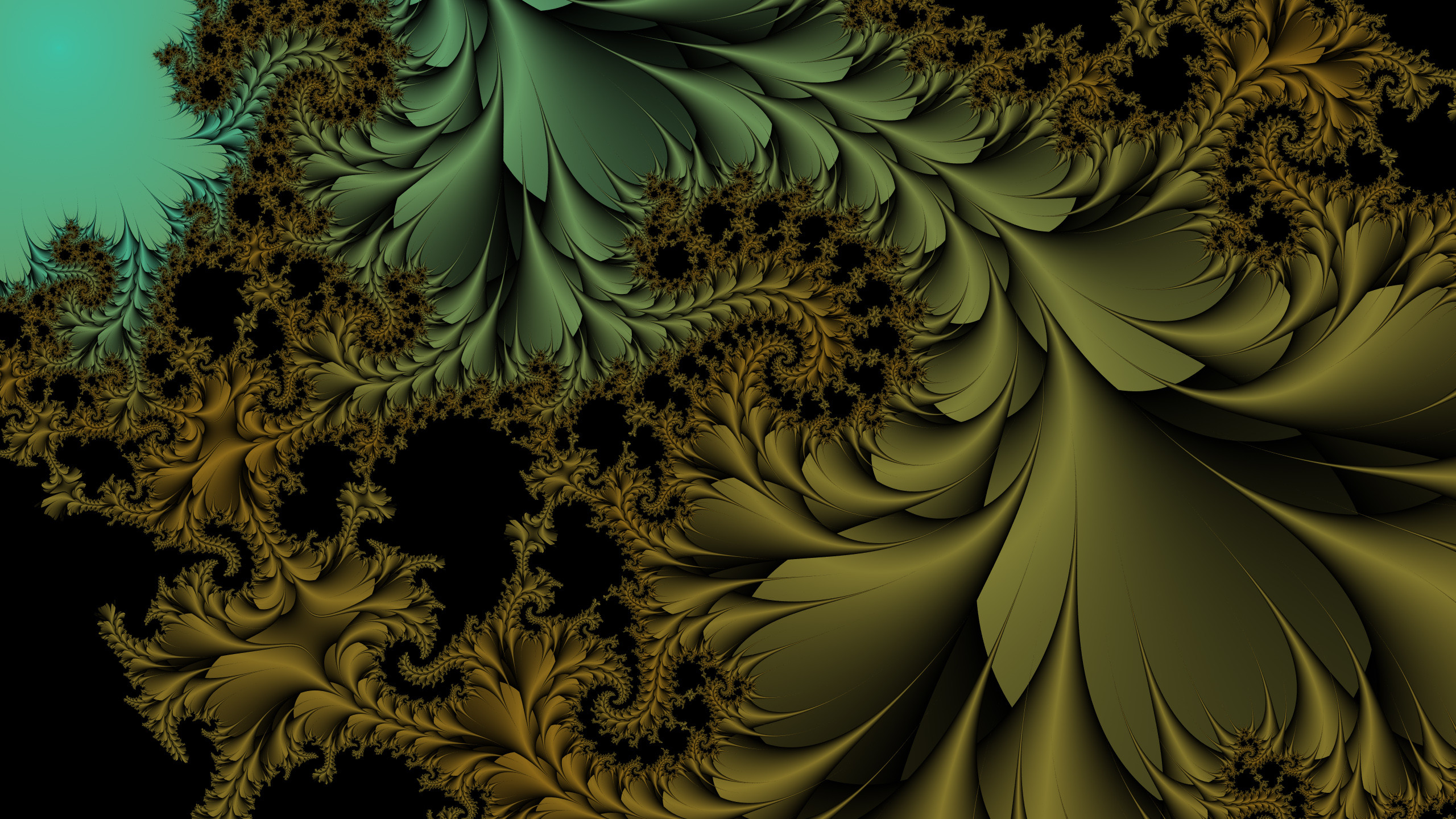 2560x1440 ... Fractal wallpaper hd by e-designer