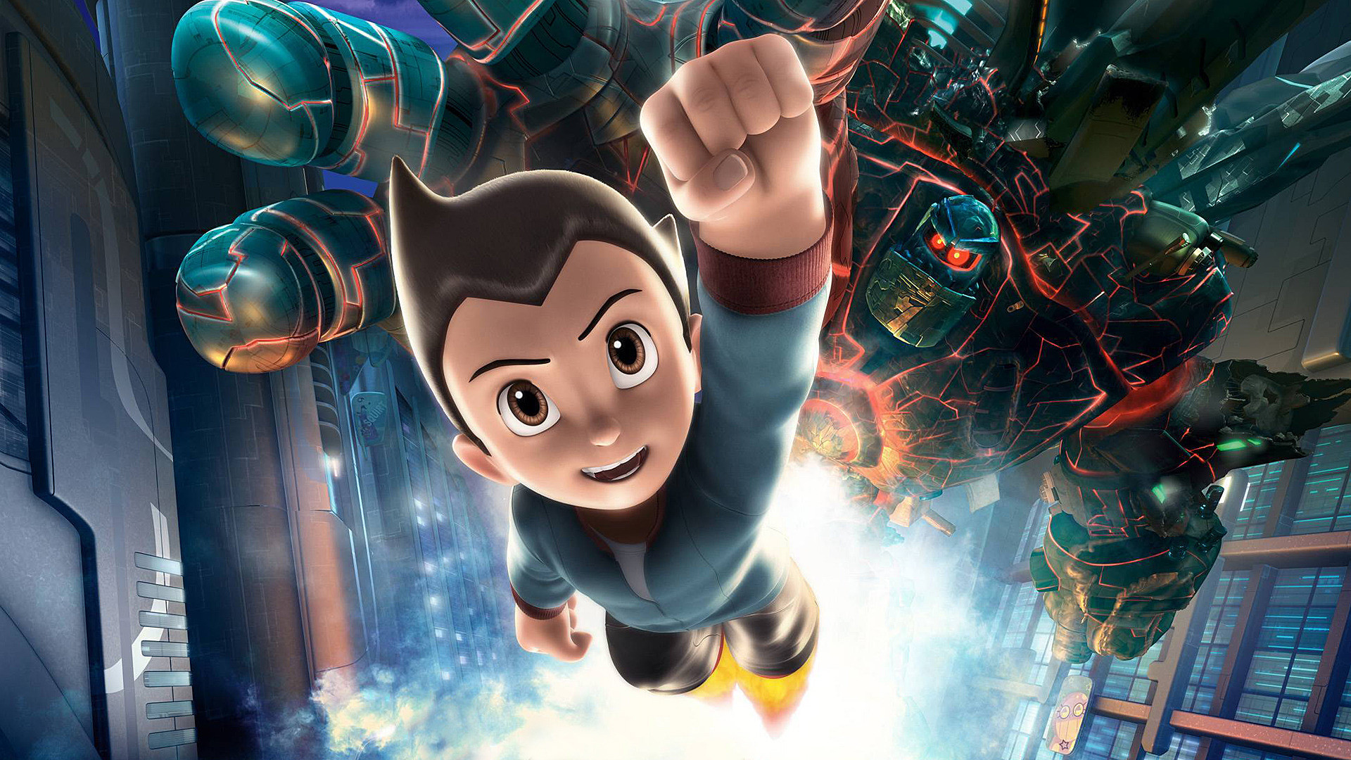 1920x1080 Astro Boy in 1920×1080 Pixel, a Good-Looking and Strong Boy, Brave Enough  to Face Any Danger, Even Willing to Sacrifice Himself – TV & Movies  Wallpaper
