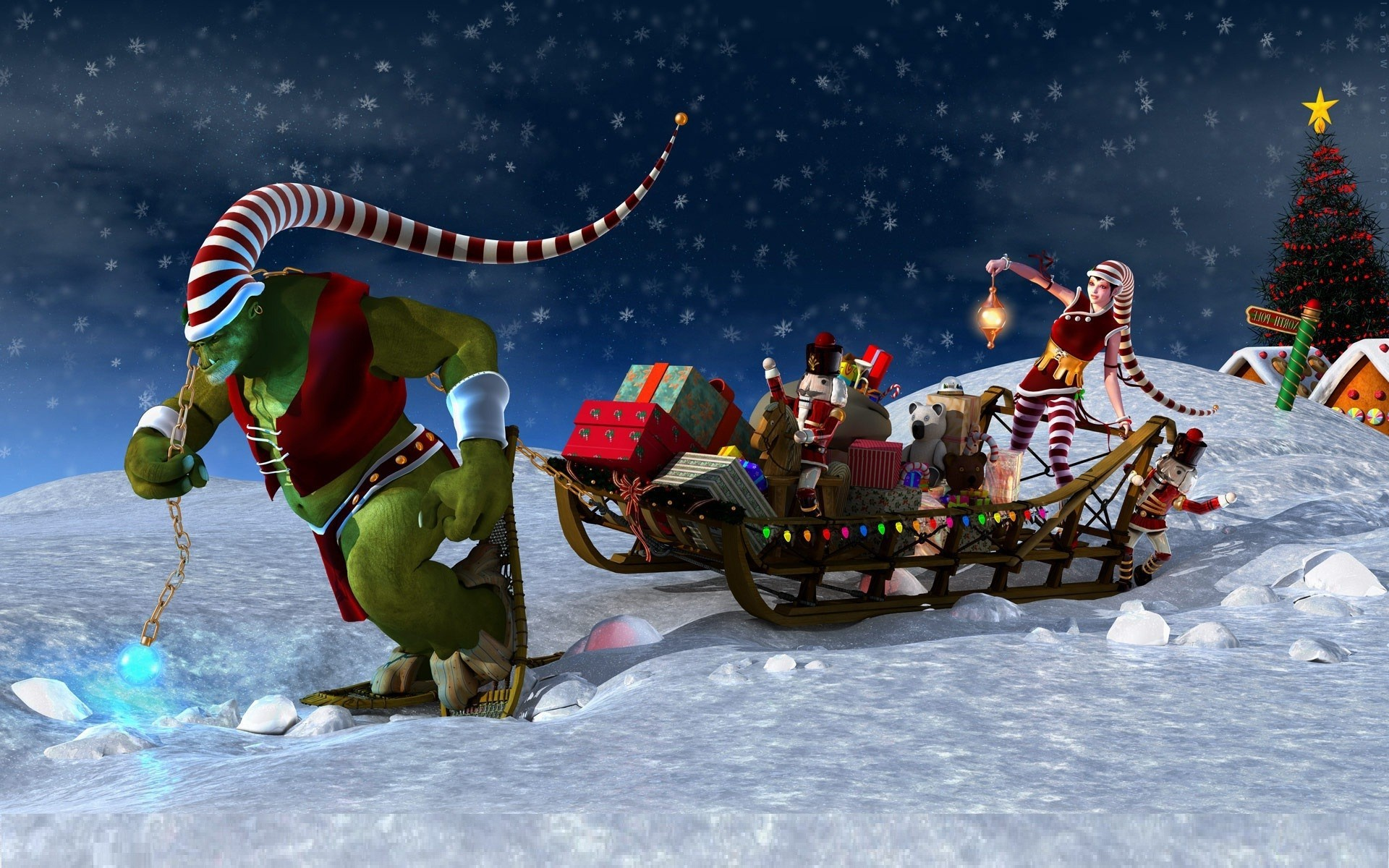 1920x1200 Animated Christmas Backgrounds For Desktop For Desktop