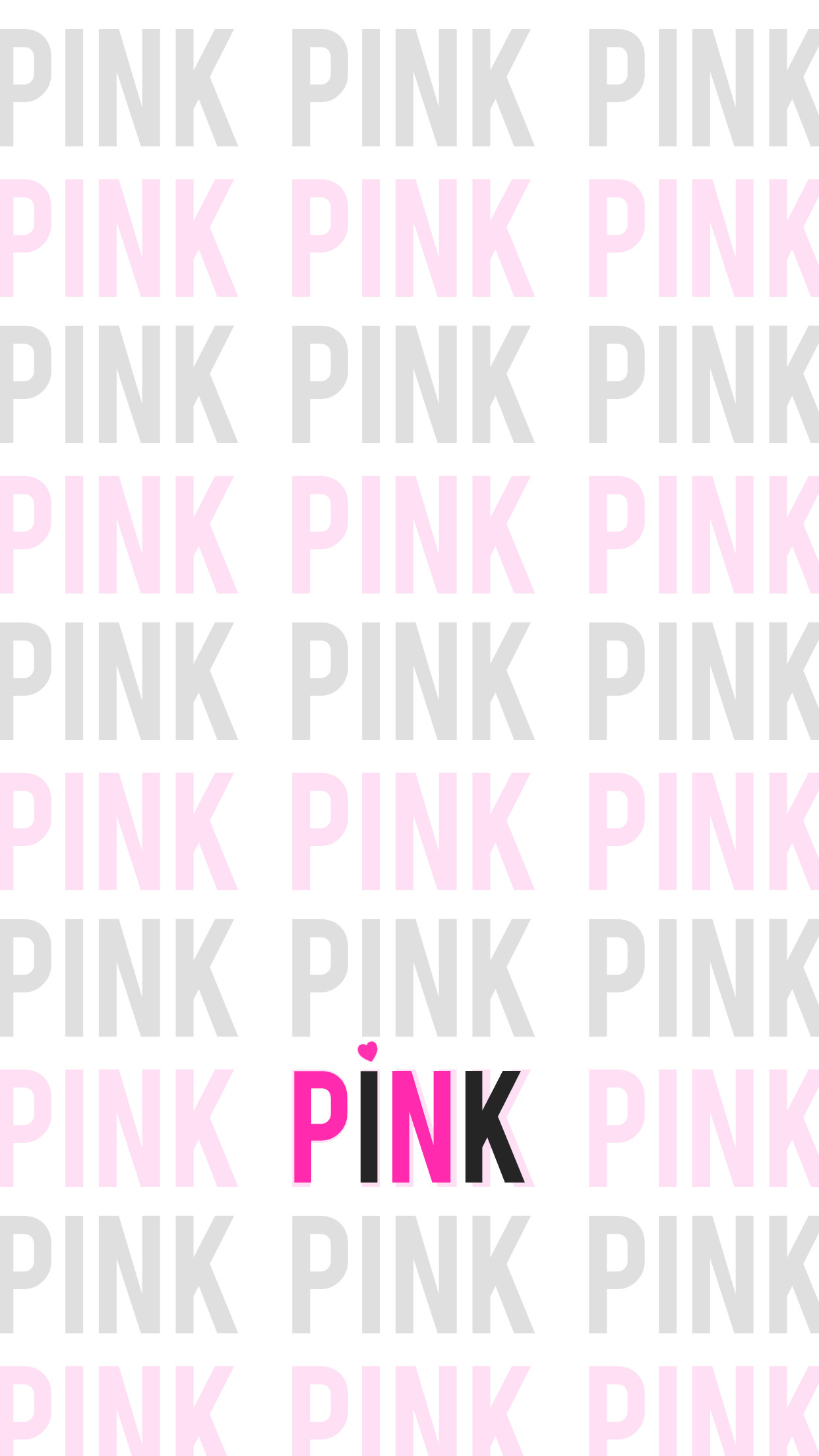 Love Pink iPhone Wallpaper HD - Free Download | iPhoneWalls