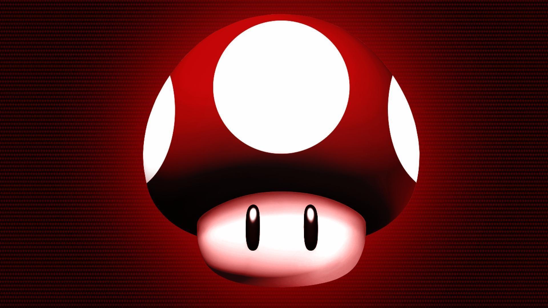 1920x1080 Abstract Super Mario Mushroom Wallpaper 3874