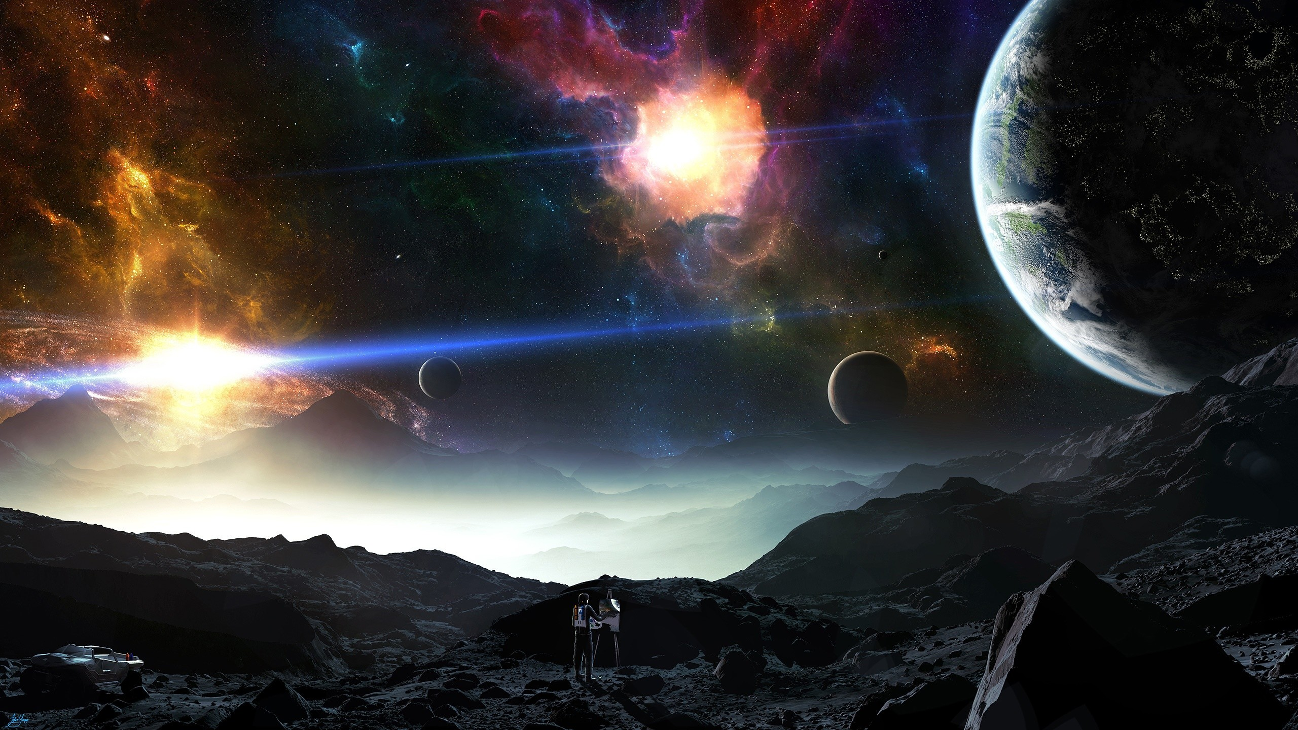 2560x1440 space wallpaper 81 images - Space solar system wallpaper ...