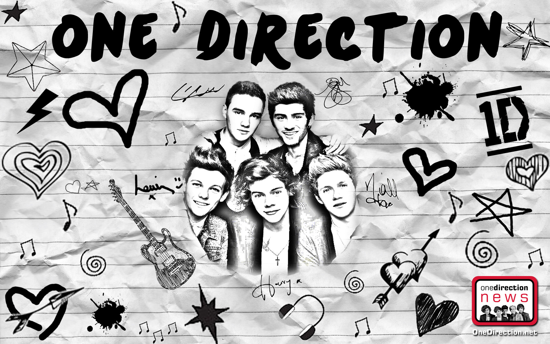 One Direction 2014 Wallpaper For Laptop