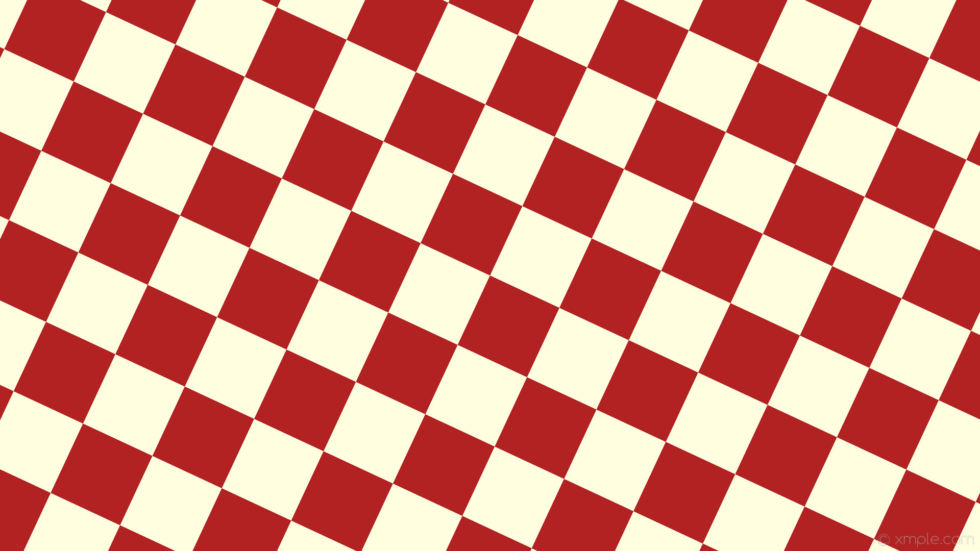 1920x1080 wallpaper red checkered yellow squares light yellow fire brick #ffffe0  #b22222 diagonal 65°