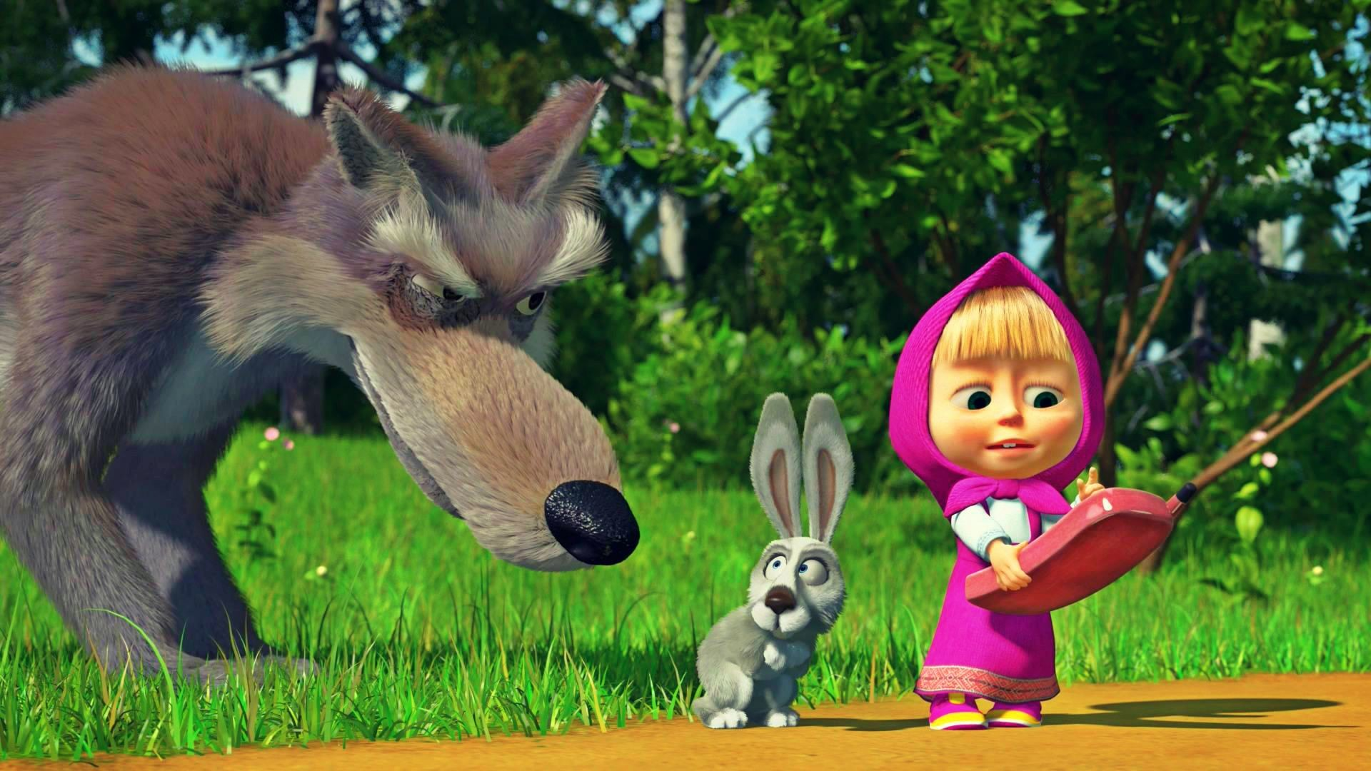 Masha And The Bear Wallpapers 82 Images
