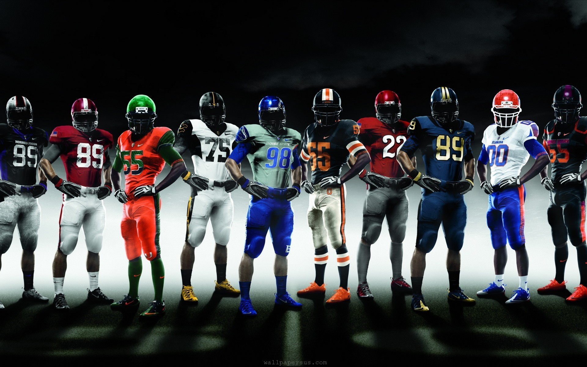 1920x1200 College Football Teams Nike Pro Combat  WIDE College Football