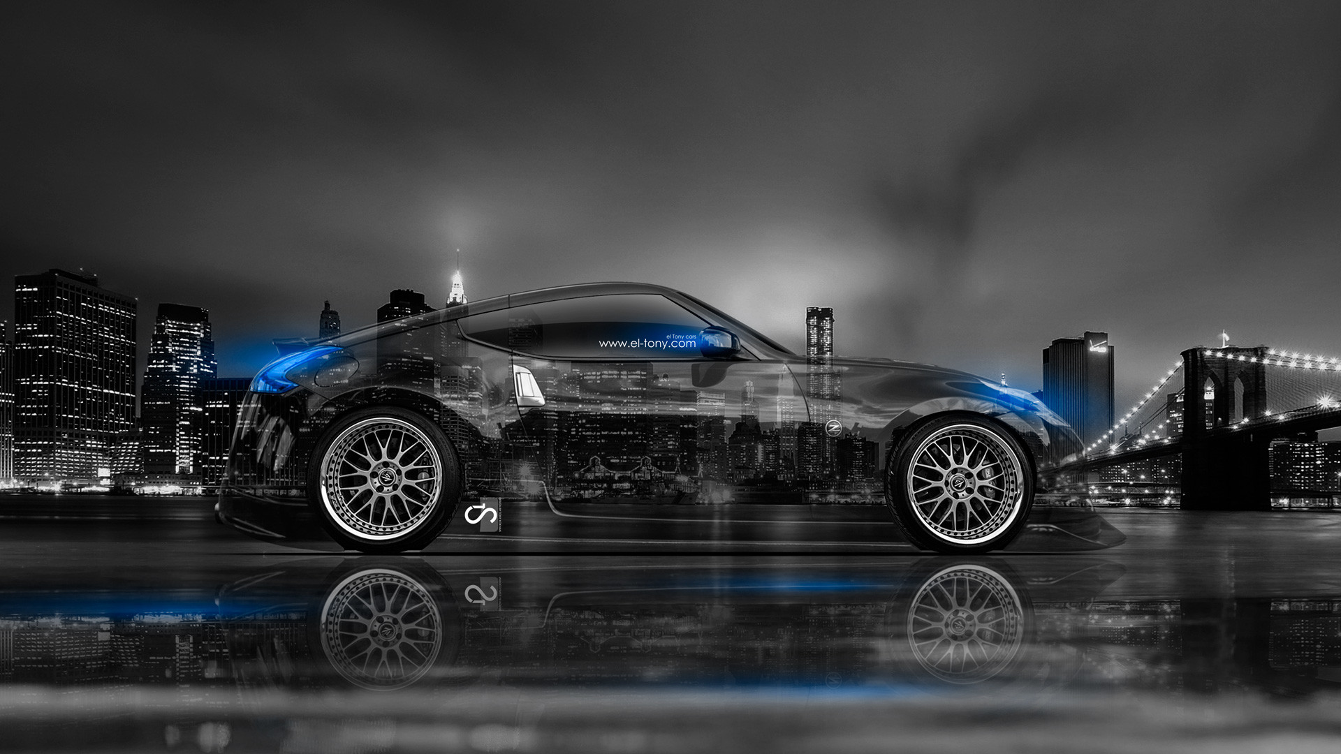 Merveilleux 1920x1200 Nissan 370z Nismo Gumball 3000 Rally Nissan Nism Tuning Tuning  Rear View