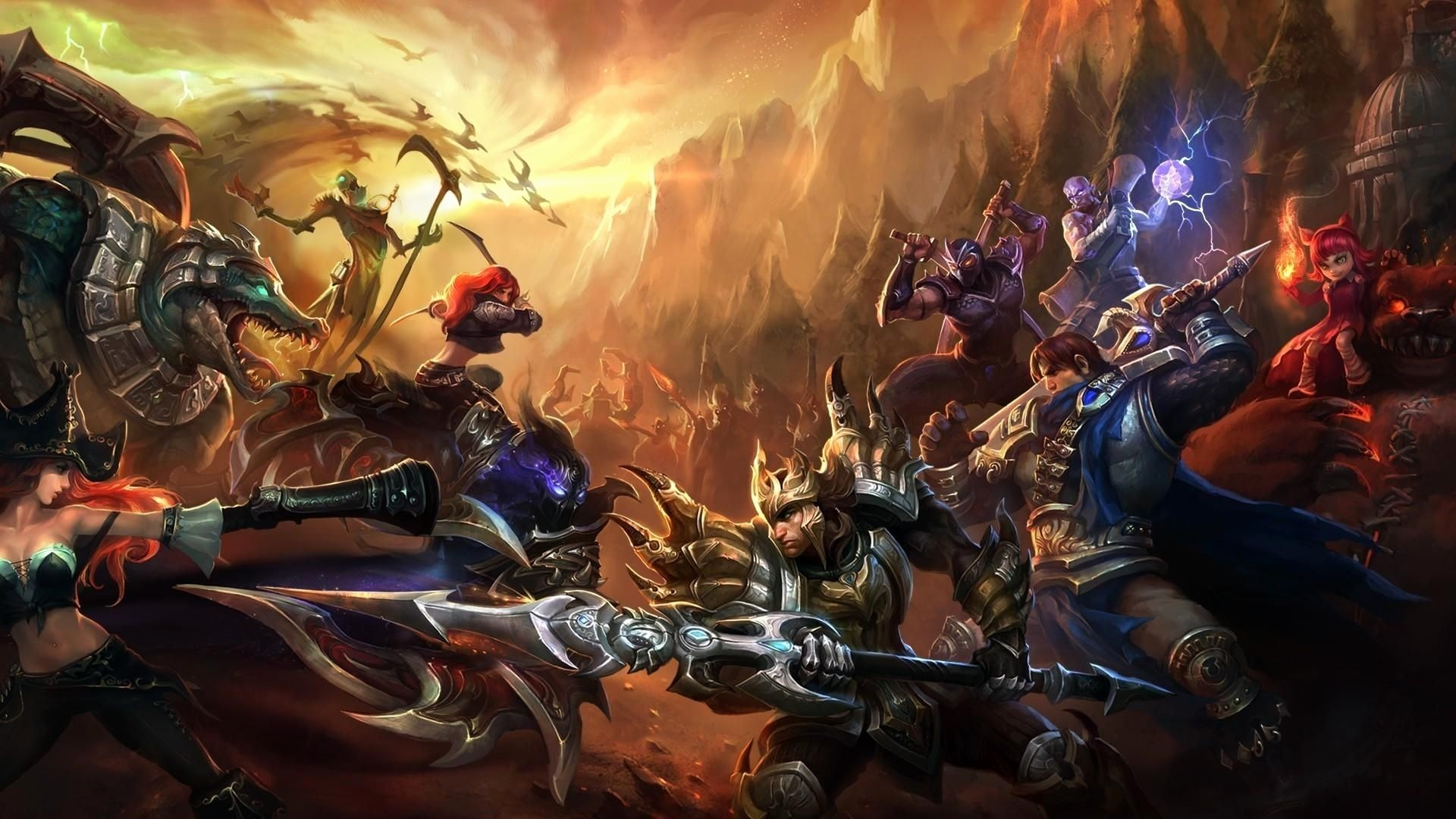 League of Legends 4K Wallpaper (54+ images)