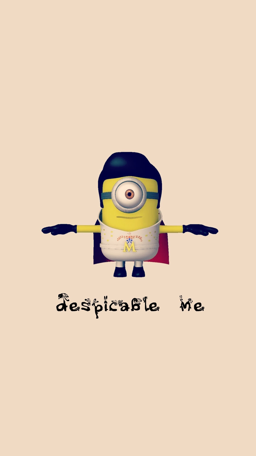 1080x1920 Elvis Presley minion apple iphone 6 plus wallpaper HD - Despicable Me, 2014  Halloween #