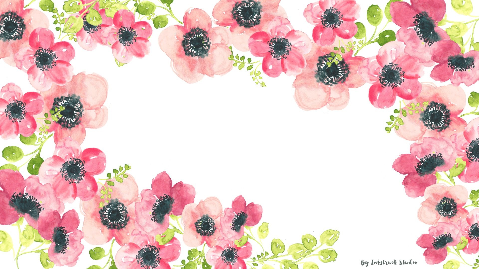 1920x1080 Download the choice of your watercolor floral wallpapers by clicking the  links below:-