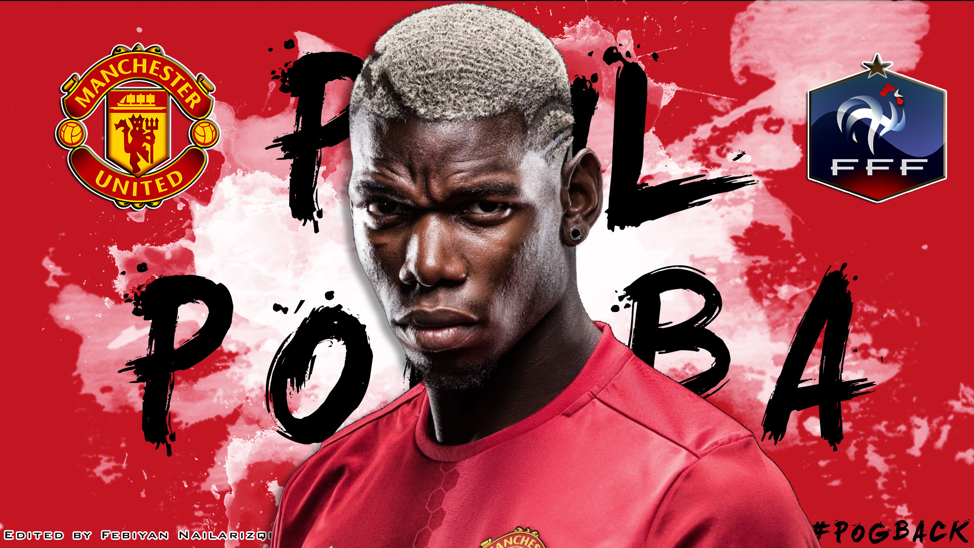 Paul Pogba Manchester United Wallpapers (89+ Images