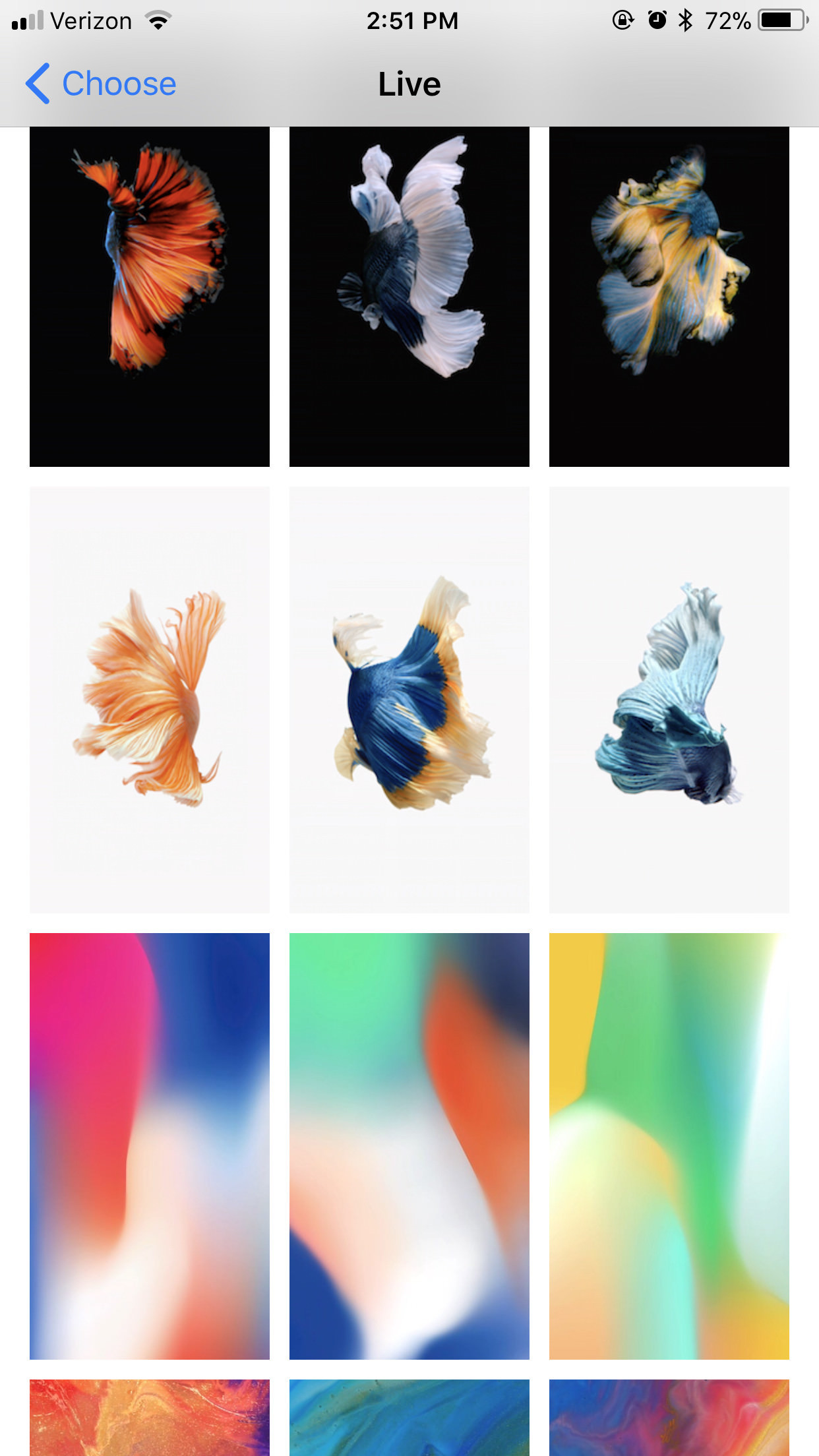 Dynamic Wallpapers for iPhone 6S (81+