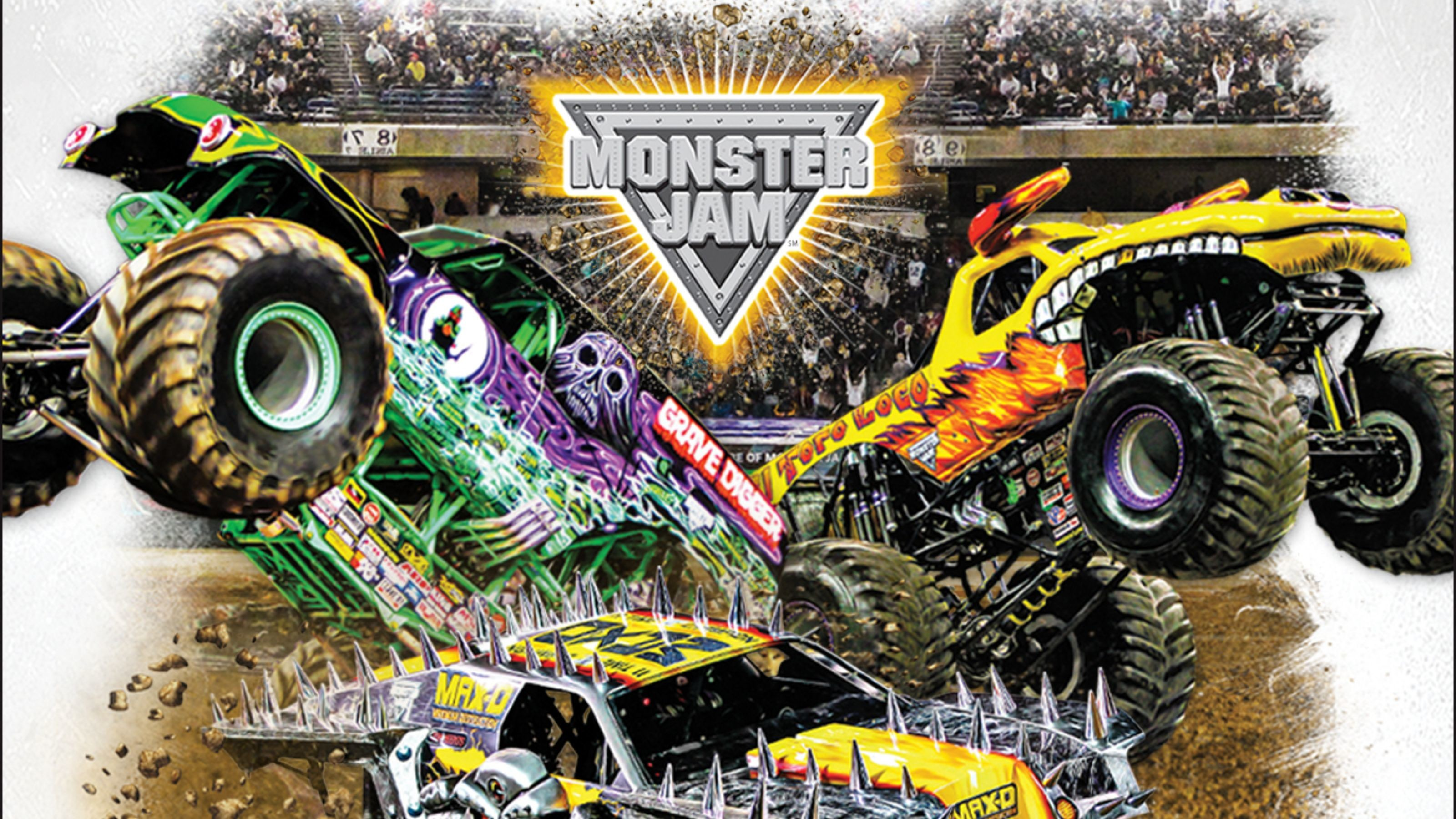 Monster Jam Wallpaper Desktop (51+ images)