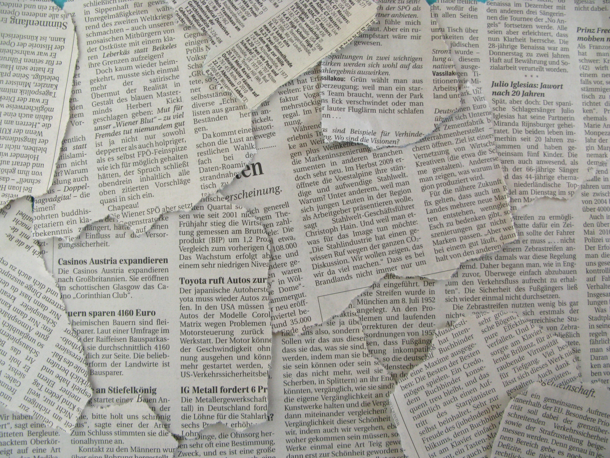 Background A Newspapers Newspaper Texture Free Powerpoint