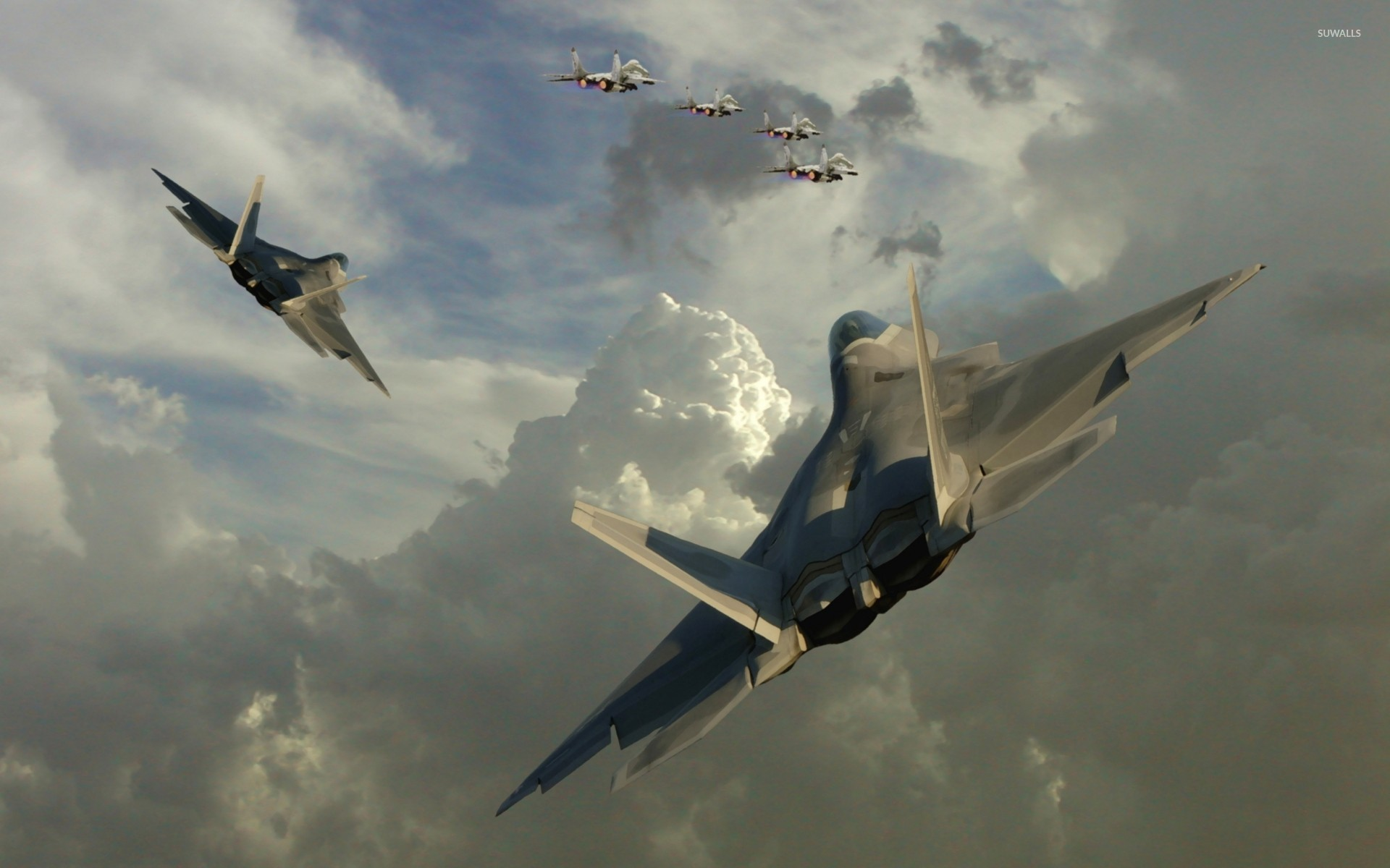 1920x1200 Lockheed Martin F-22 Raptor [3] wallpaper