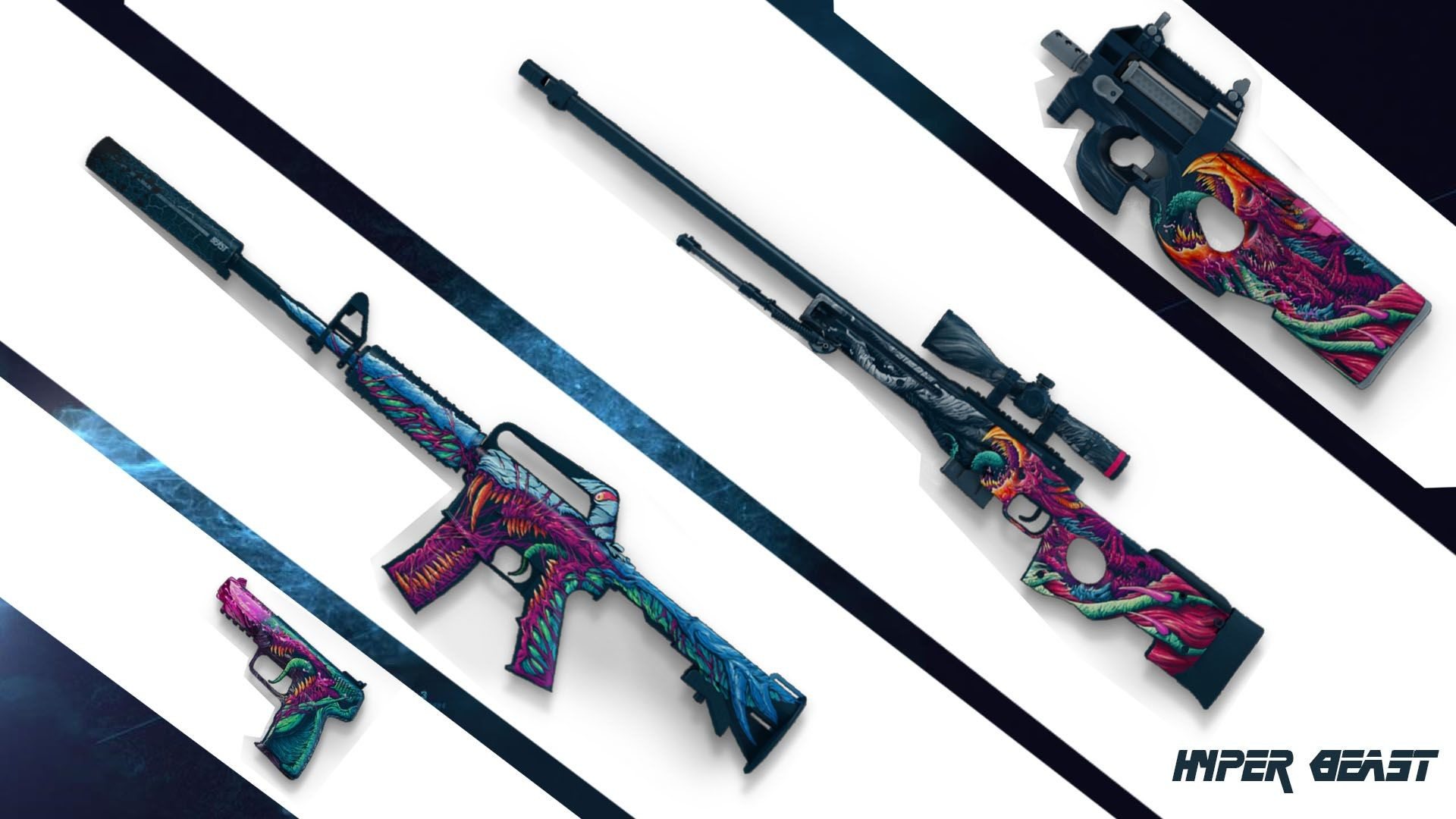 1920x1080 cs go hyper beast | Cs Go Awp Wallpaper I made a hyper beast themed  wallpaper [