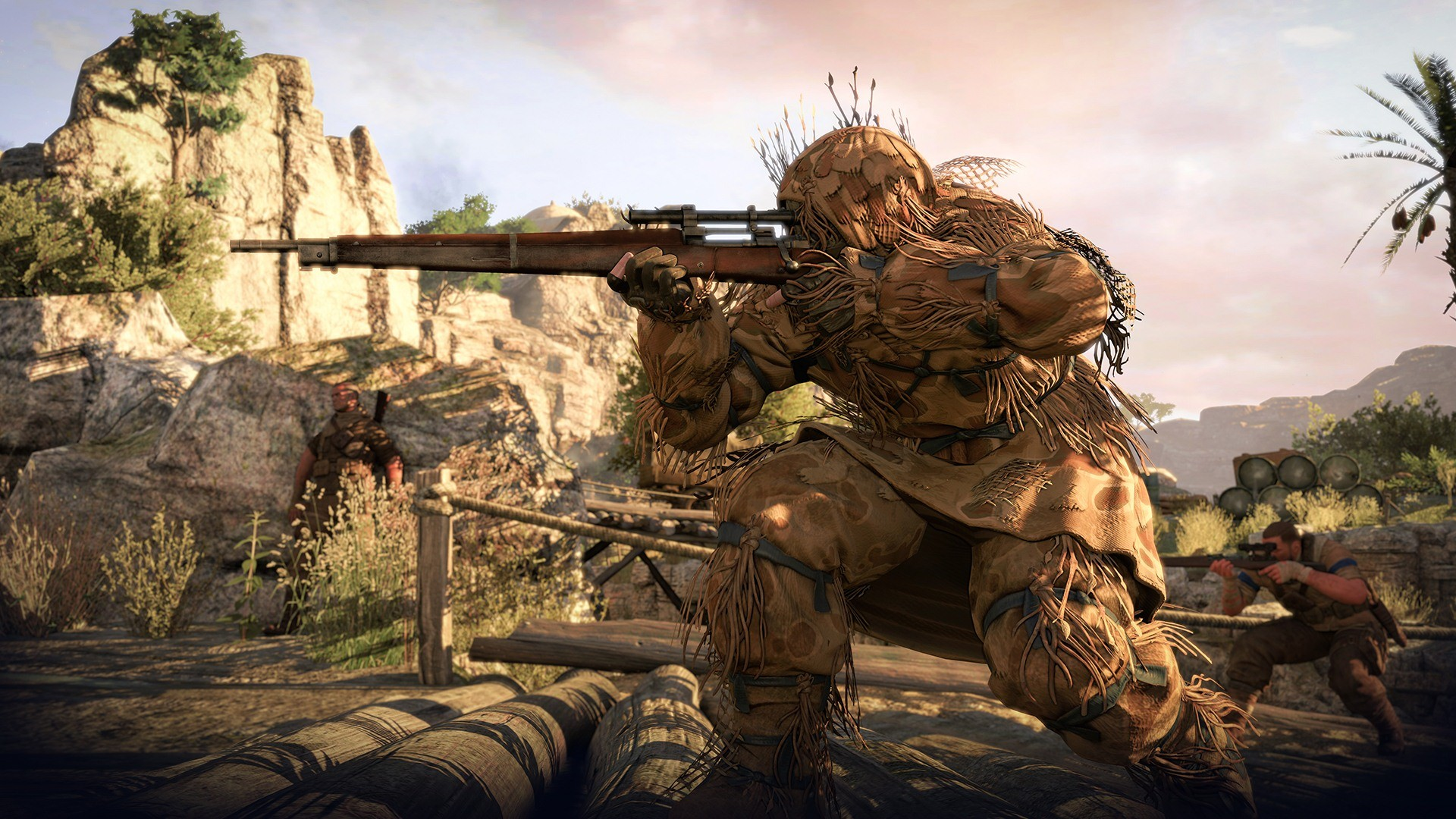 1920x1080 Sniper Elite Wallpaper 2701