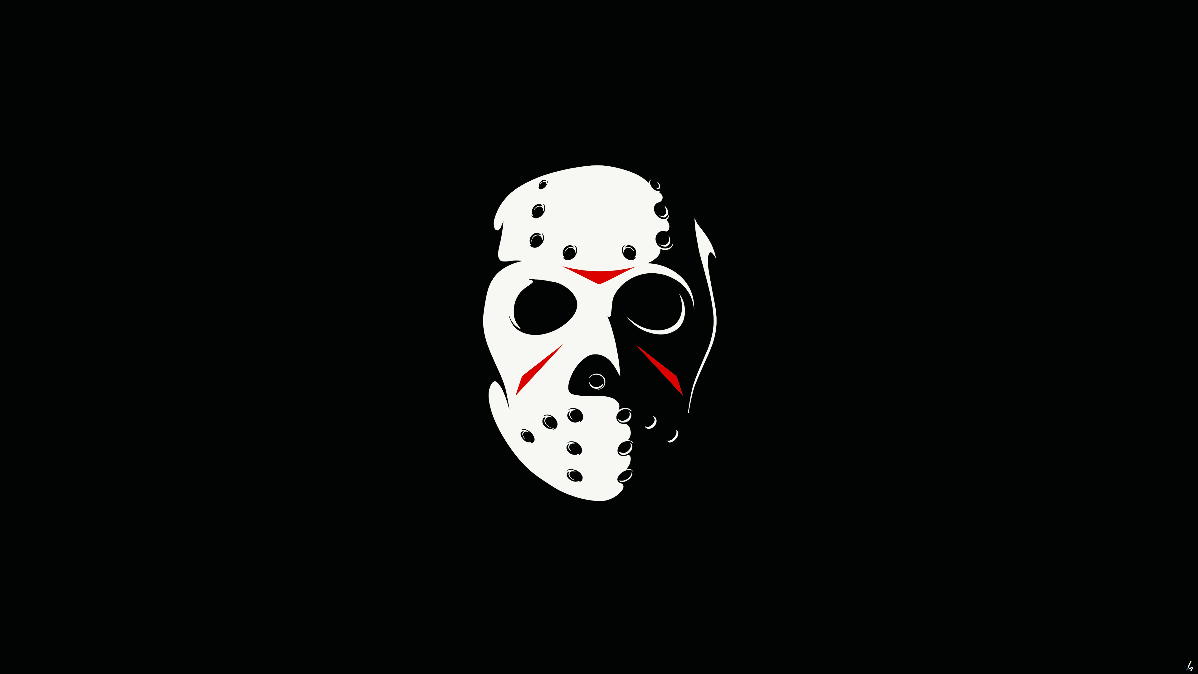 3840x2160 Friday The 13th The Game Minimalism Dark 4k