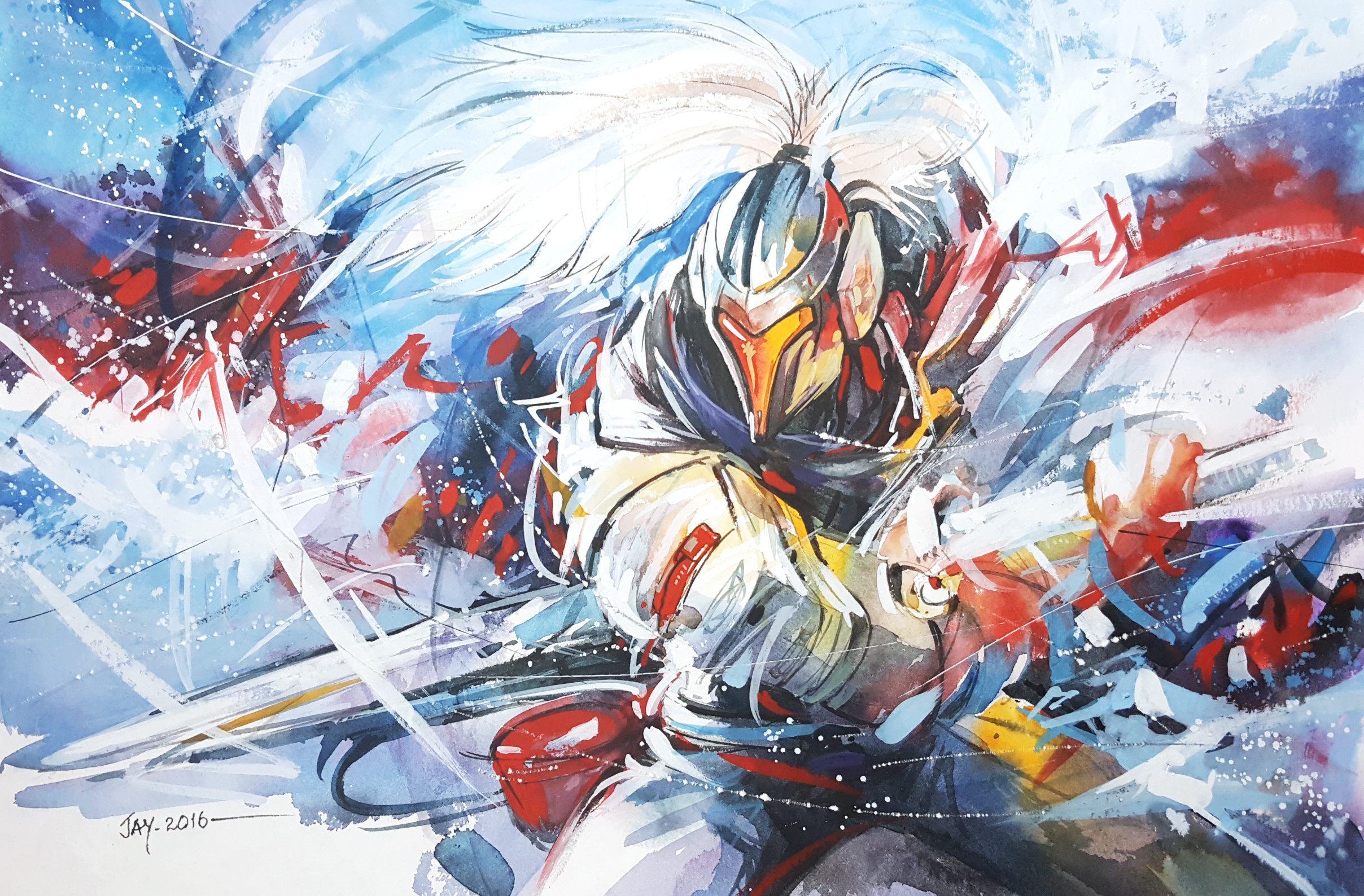 2416x1588 ... League of legends - Project Yasuo by Abstractmusiq