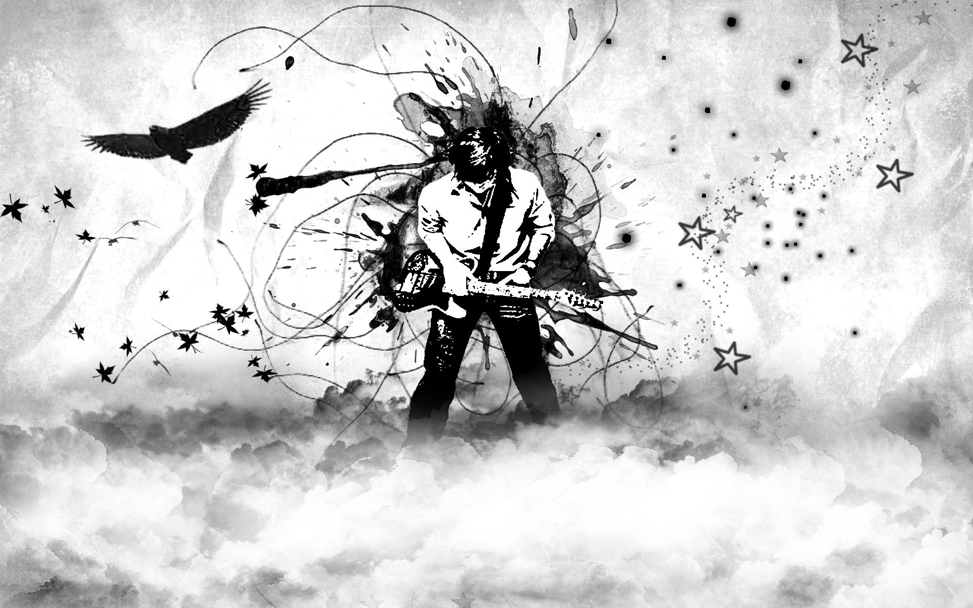 1920x1200 cool black and white wallpaper by missycla on deviantart with black and white  wallpaper.