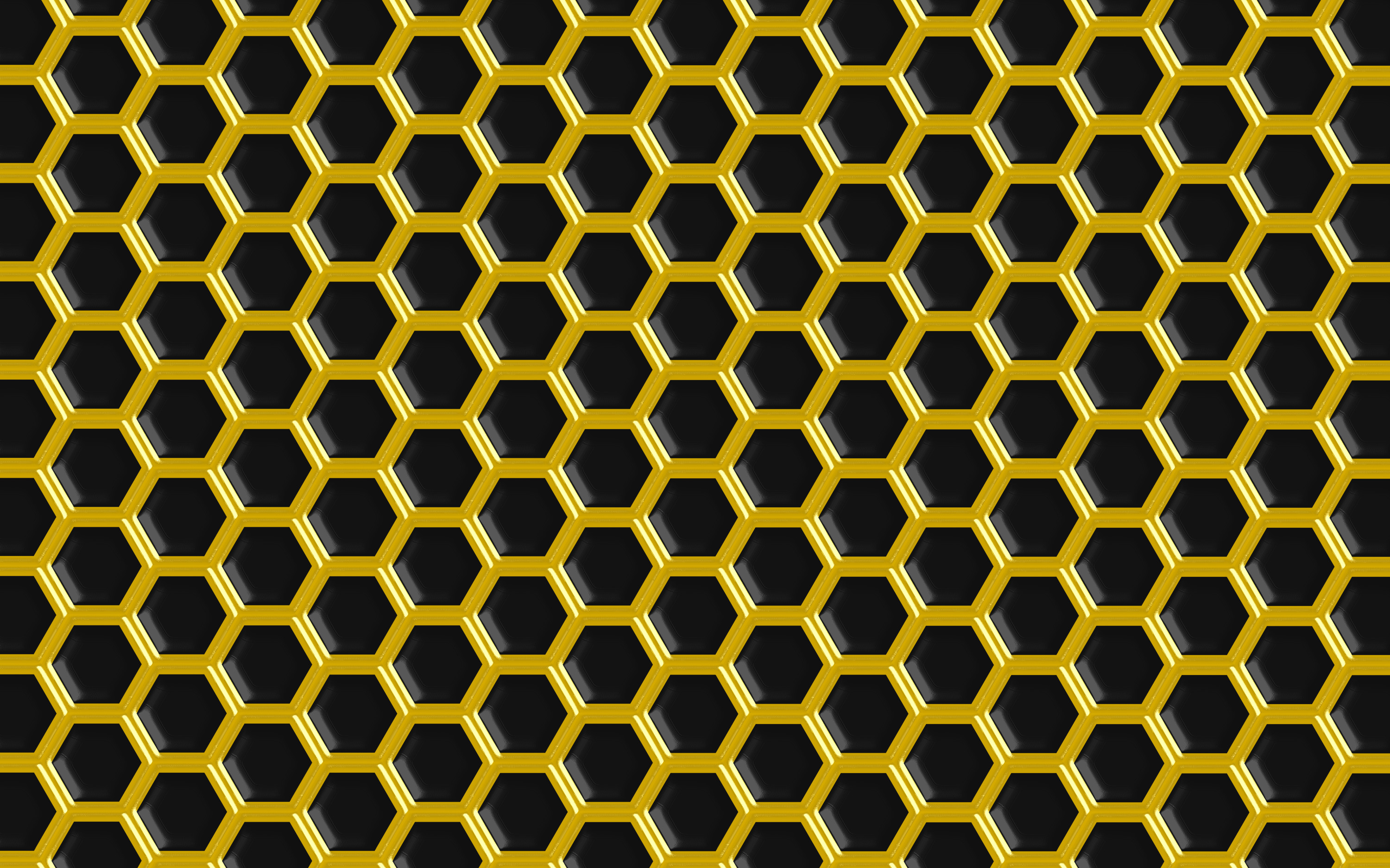 3000x1875 ... Black Gold Hex Background px by l4k3