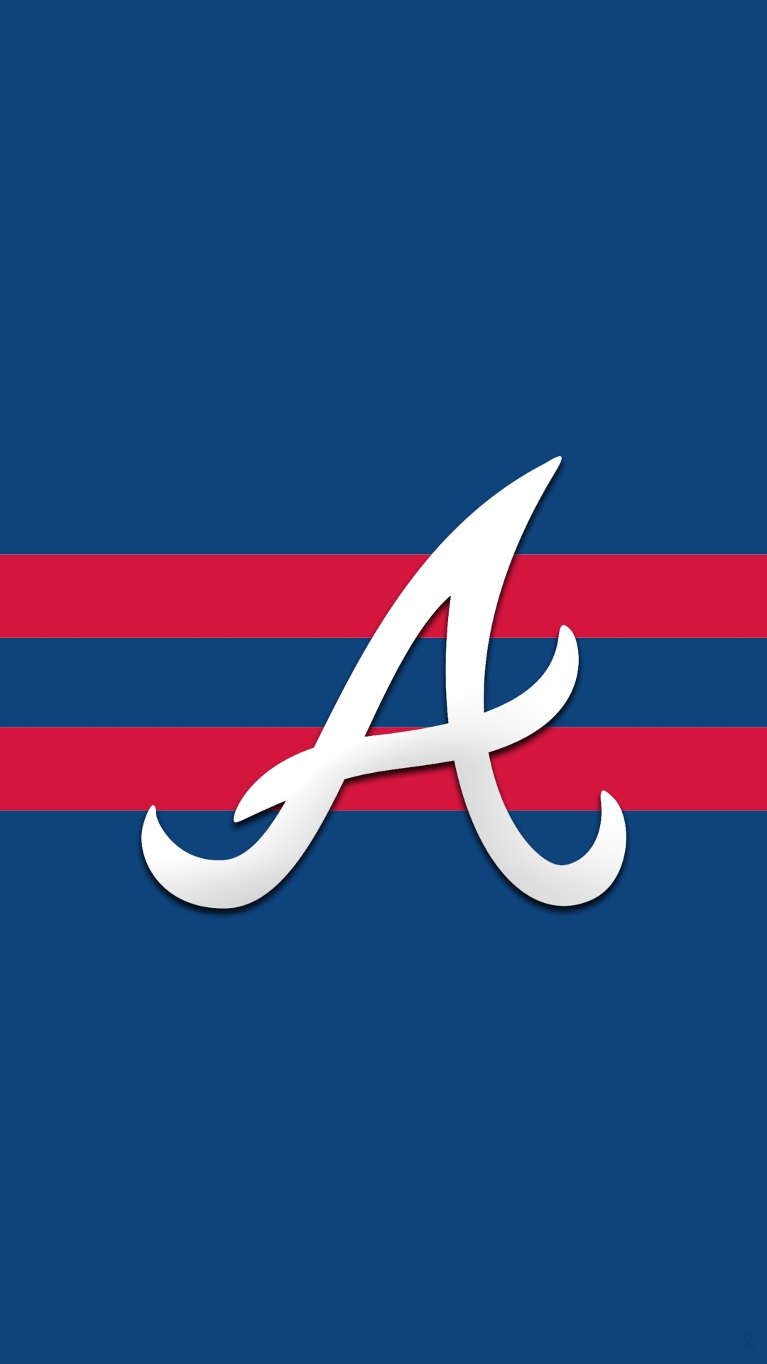 1080x1920 ... Atlanta Braves Iphone 7 HD Background regarding Atlanta Braves Phone  Wallpapers ...