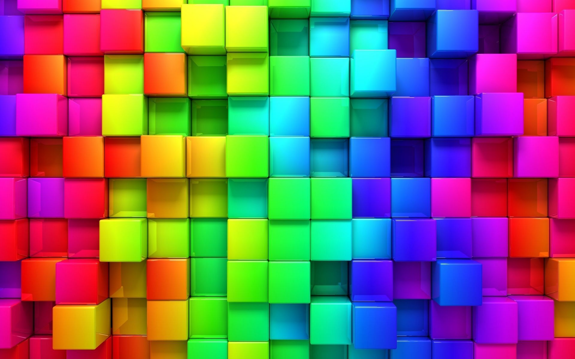 1920x1200 Colorful 3D Wallpapers Group (73+)