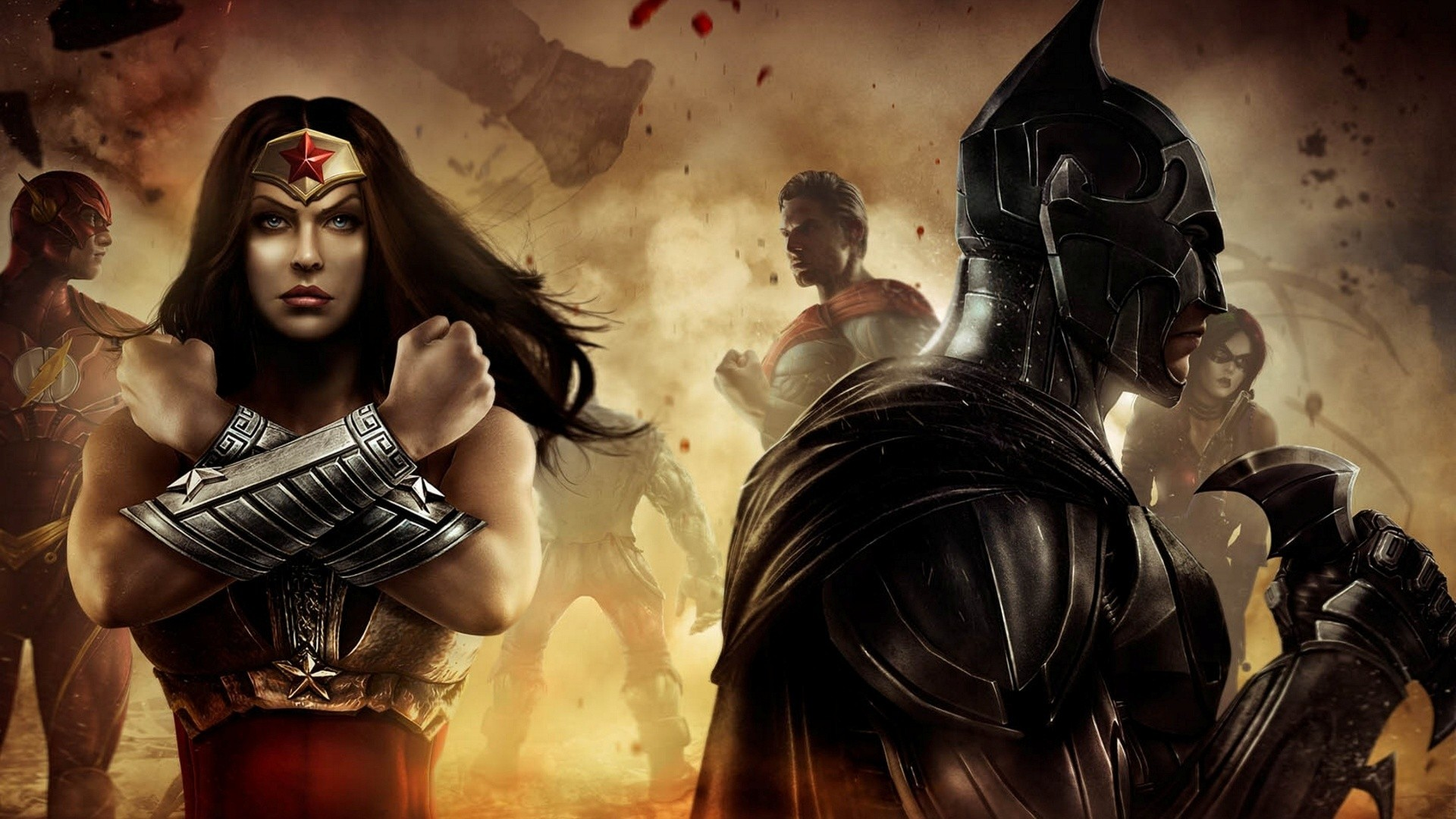 1920x1080 Wonder Woman Injustice Wallpaper HD #9bT