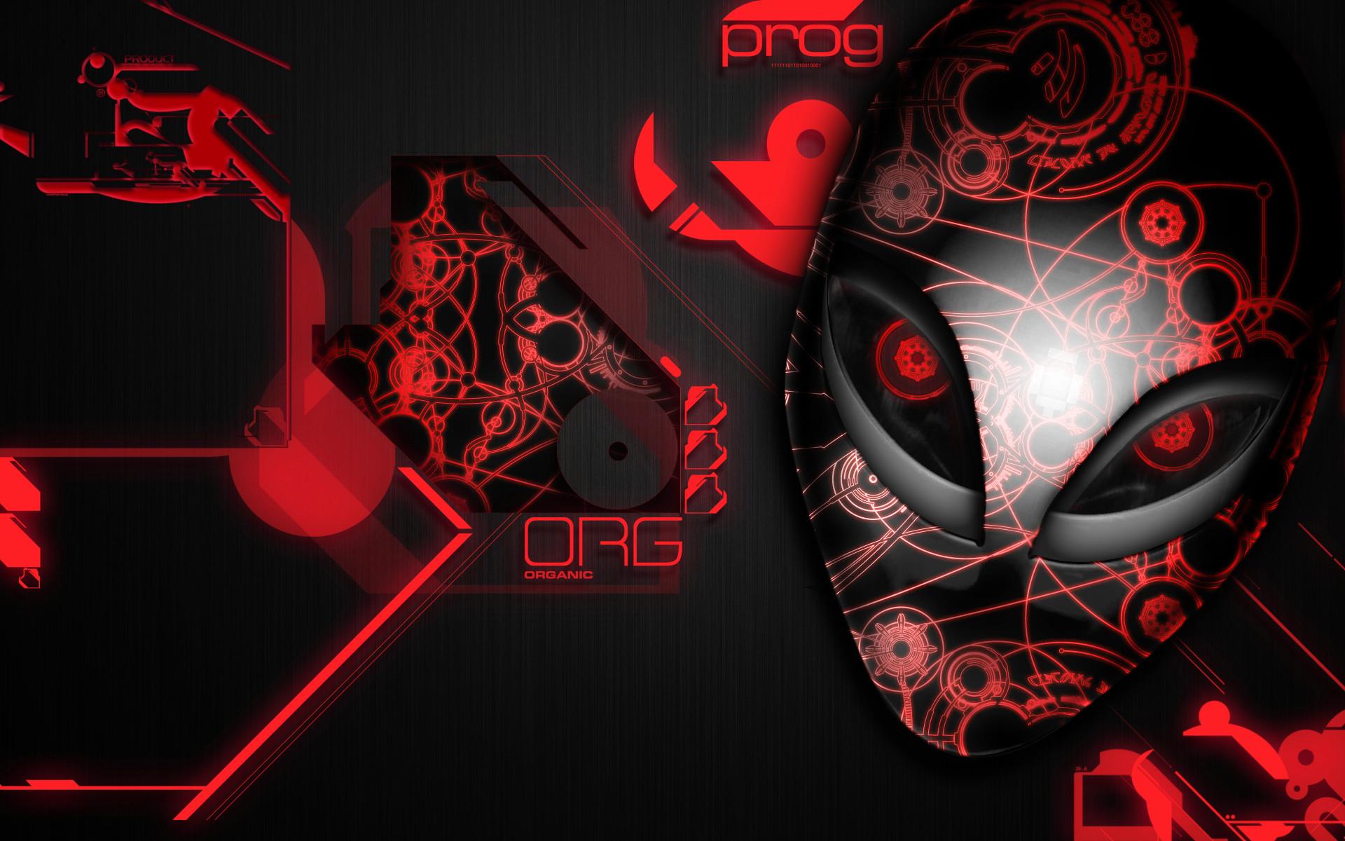 1920x1200 alienware desktop background red organic design 1920x1200