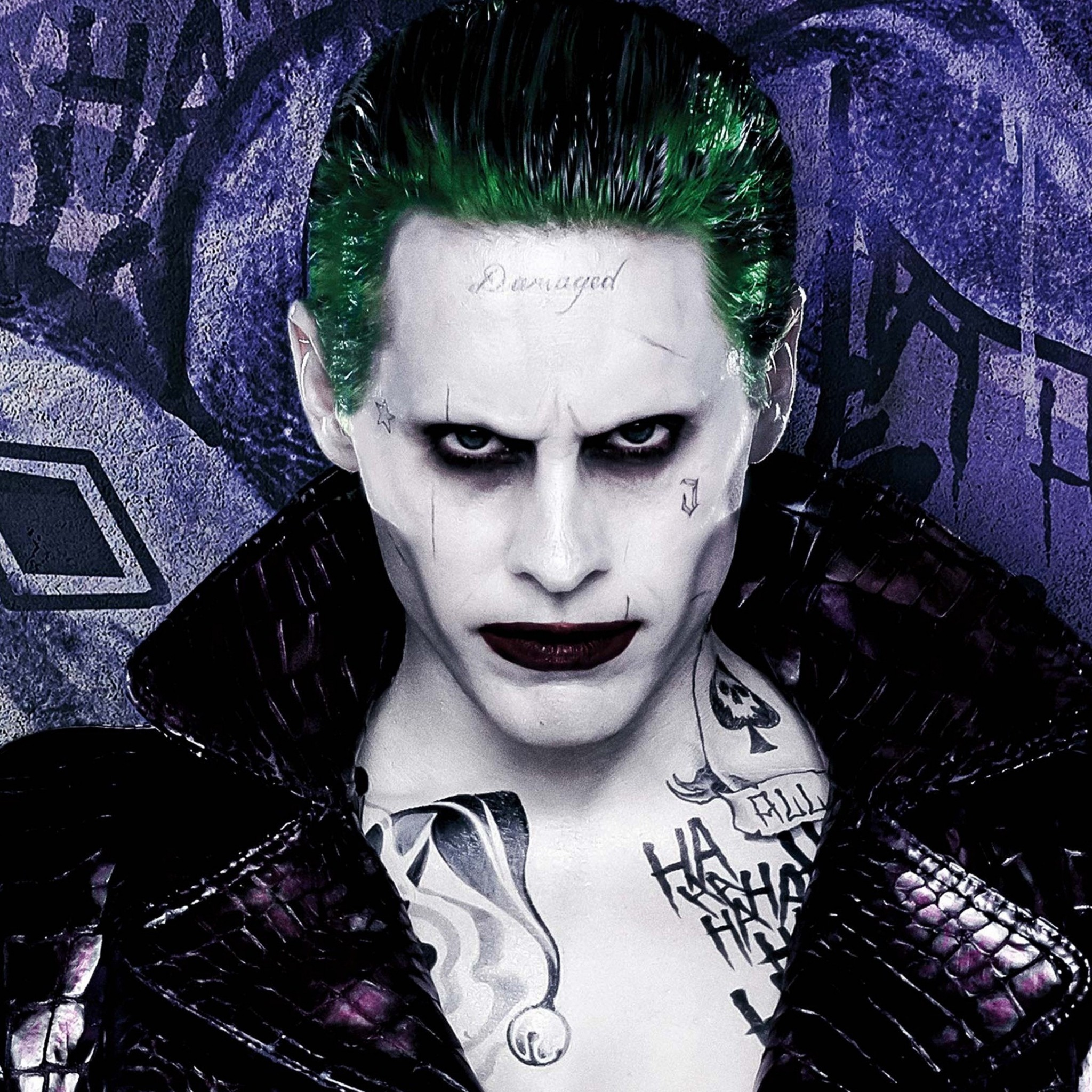 2048x2048 Preview wallpaper suicide squad, the joker, jared leto