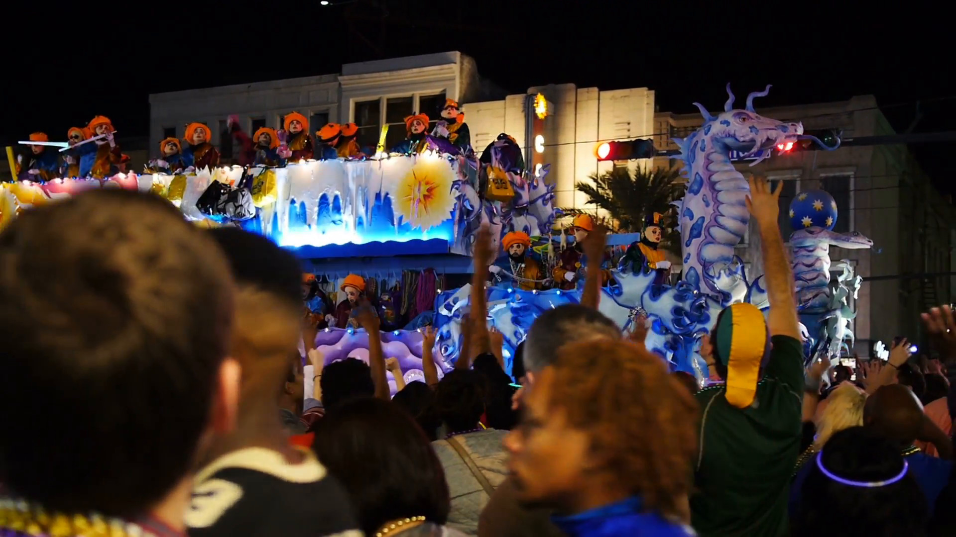 1920x1080 Krewe of Endymion Float in a Mardi Gras Parade 4127 Stock Video Footage -  Storyblocks Video