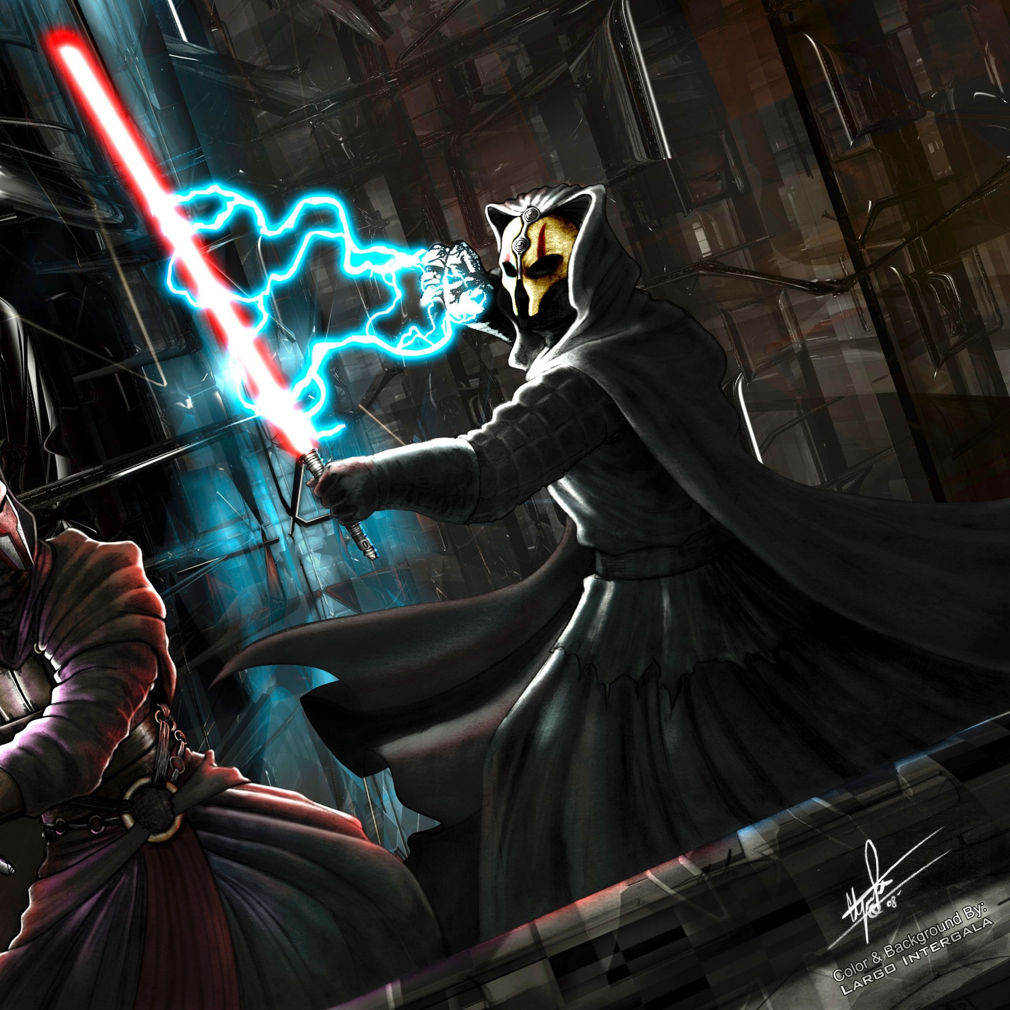 2048x2048  Wallpaper star wars, knights of the old republic, darth revan,  darth nihilus