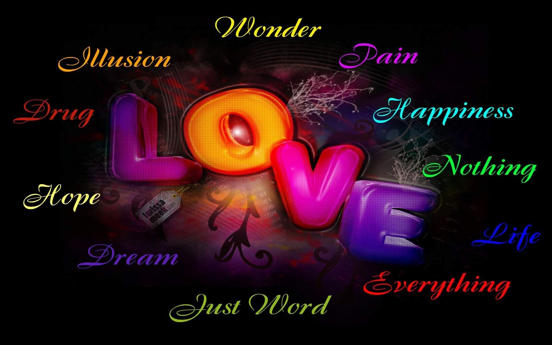 1920x1200  Love Words Wallpapers 1920A 1080 Word 42