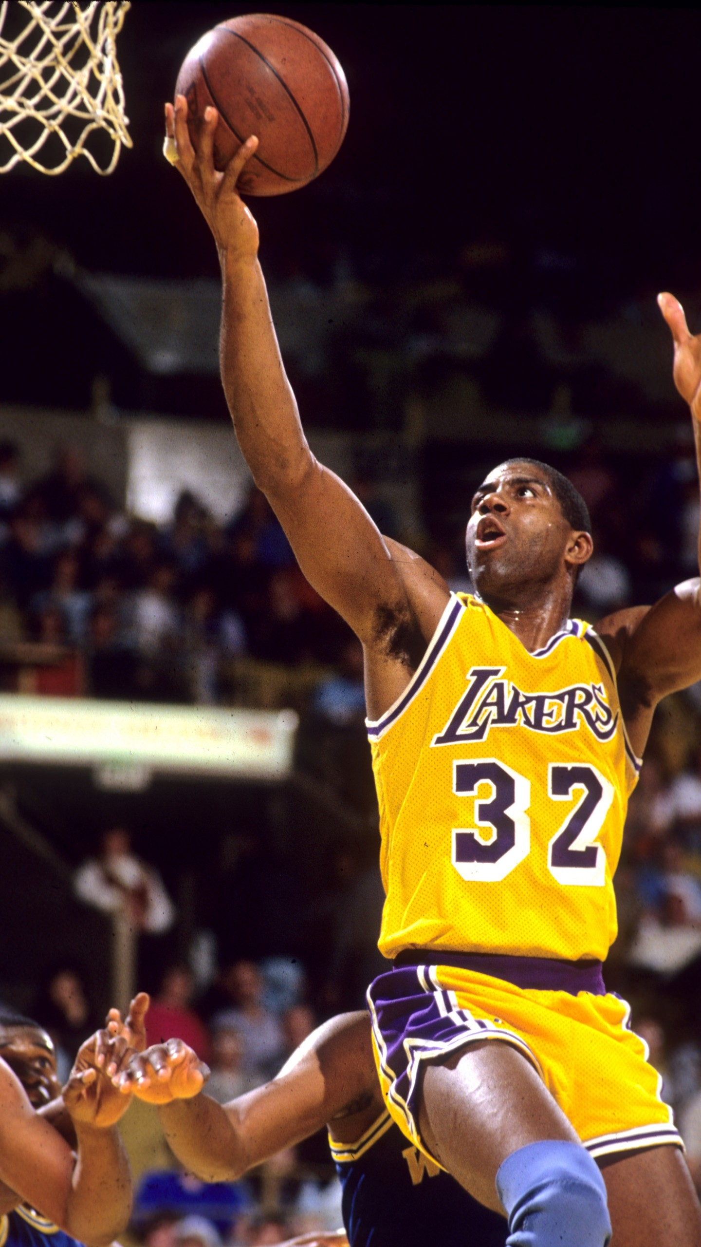 1440x2560 Magic Johnson Wallpaper