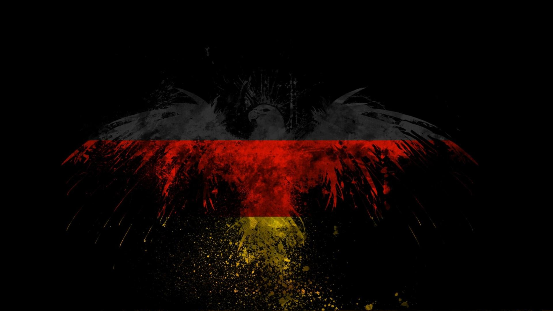 1920x1080 german flag eagle hd wallpaper