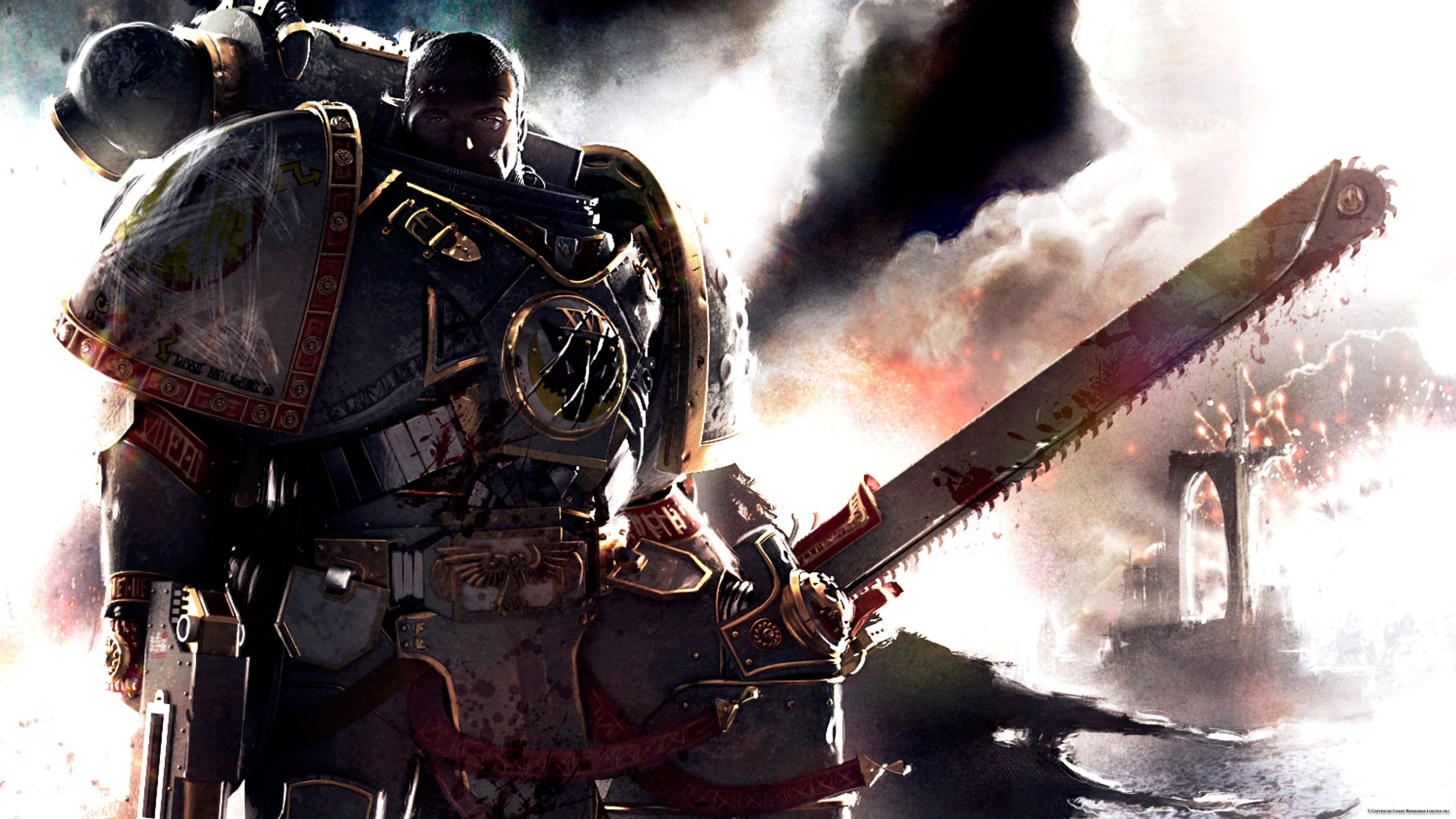2560x1440 Space Marines Wallpaper Contribute to this | space marines, exosuits,  future warfare | Pinterest | Space marine, Warhammer 40k and Warhammer 40K