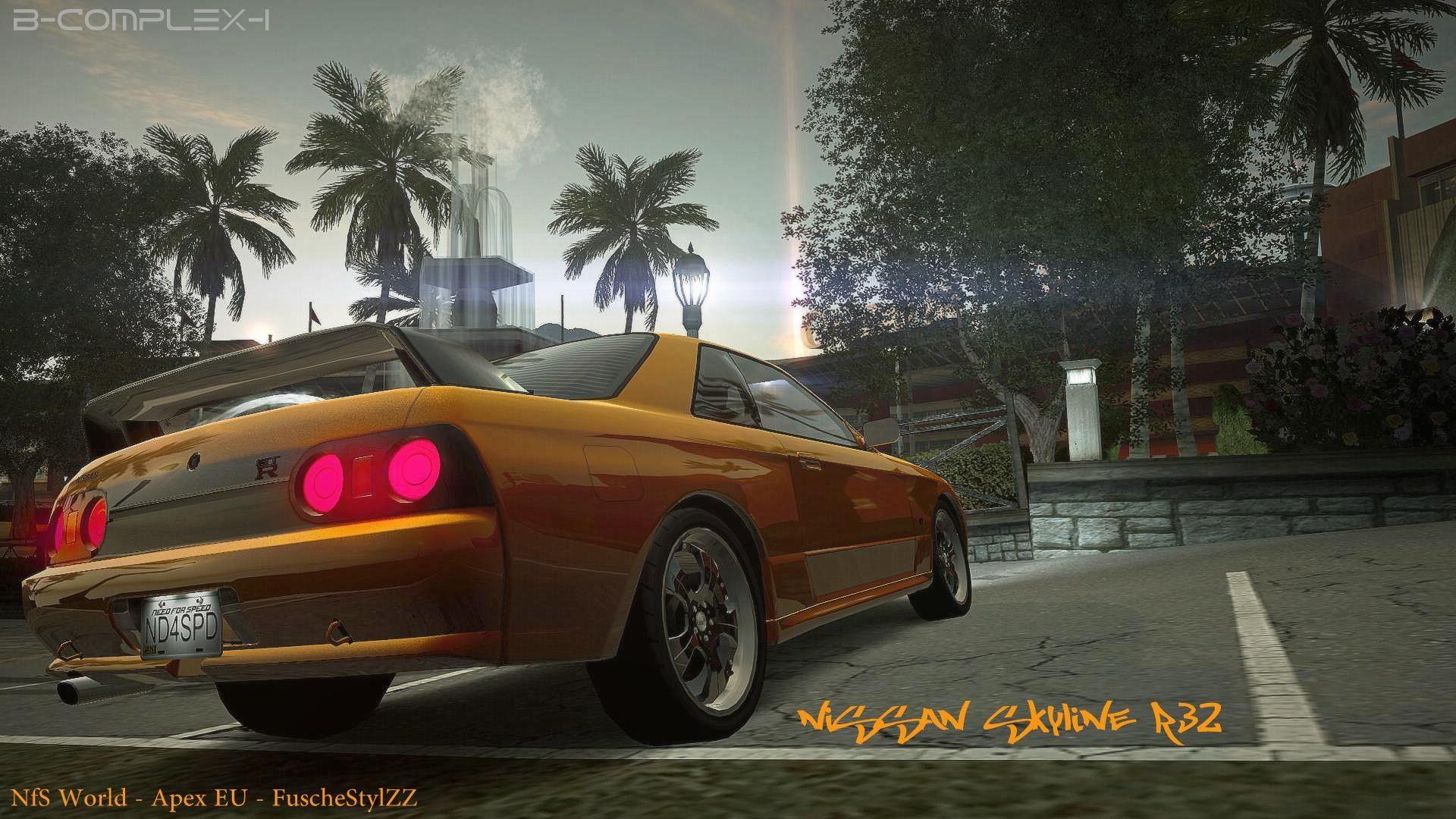 1920x1080 ... NfS World - Nissan Skyline R32 by Fusche92