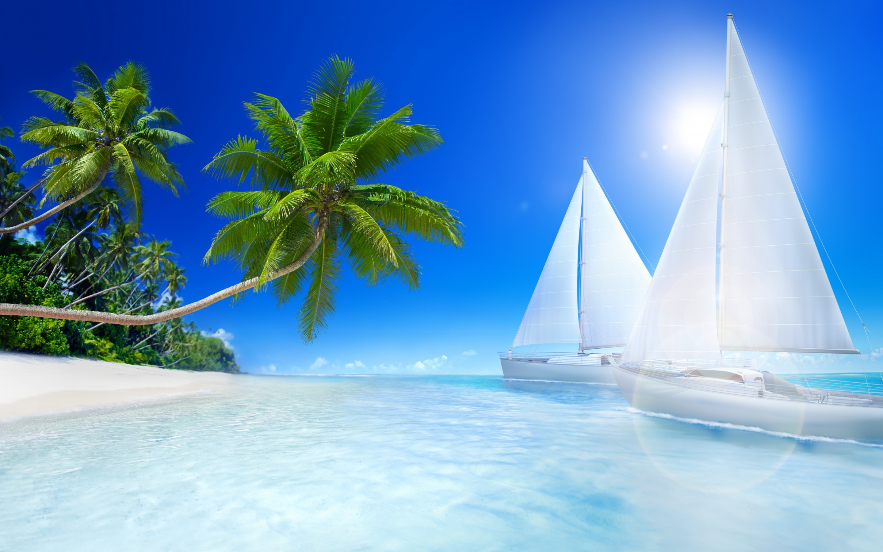 2880x1800 Tropical Beach Desktop Backgrounds 6413