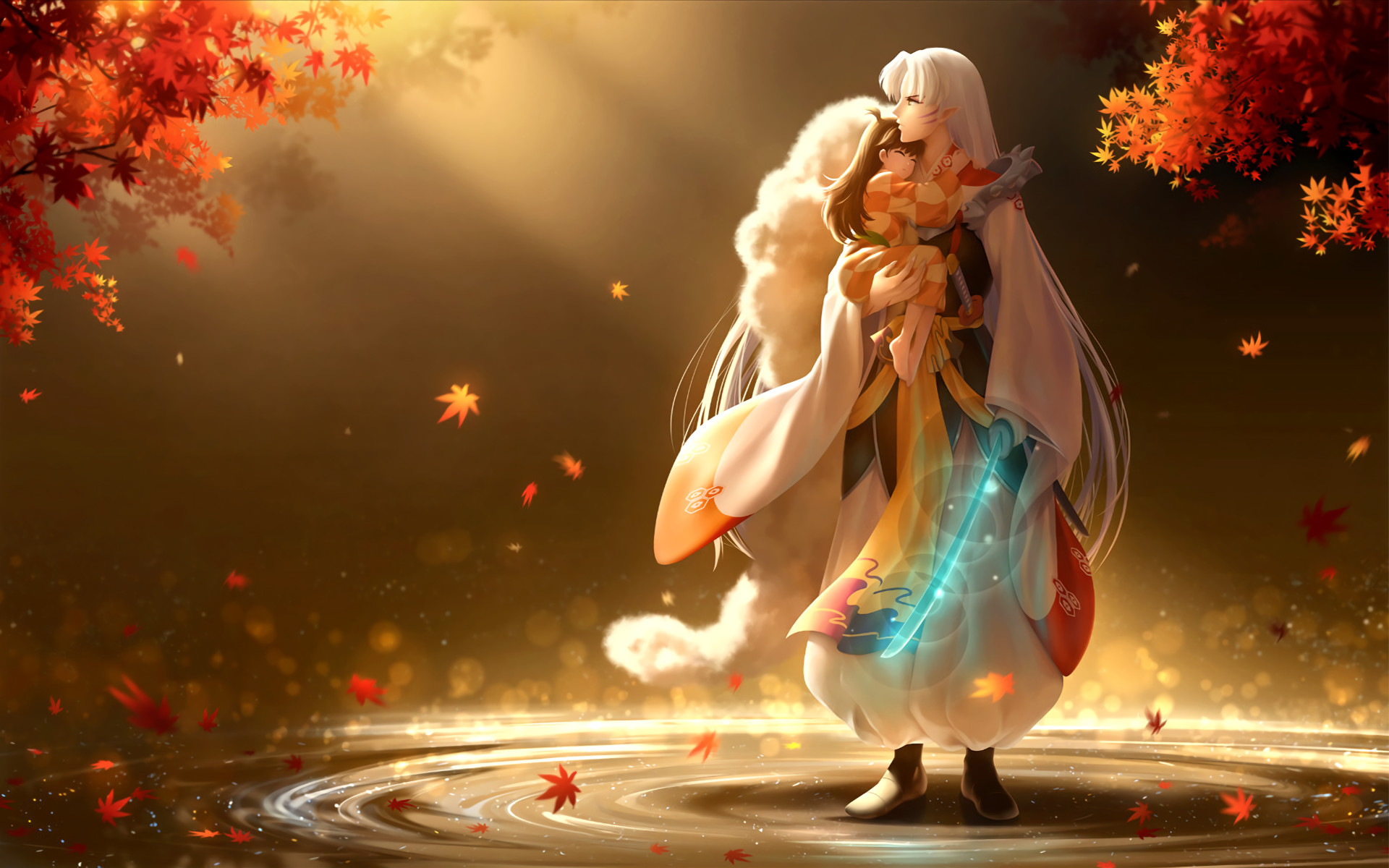 1920x1200 View, download, comment, and rate this  InuYasha Wallpaper -  Wallpaper Abyss