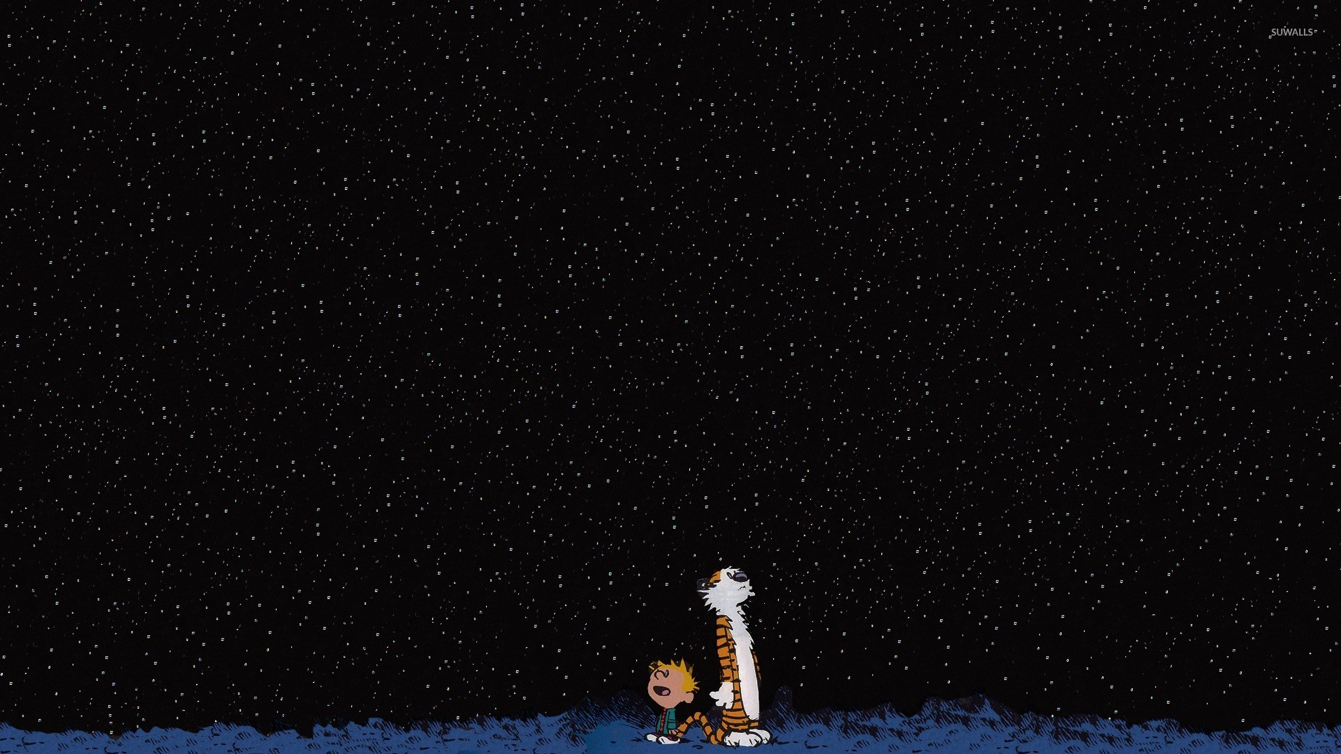 Calvin and Hobbes Stars Wallpaper (69+ images)