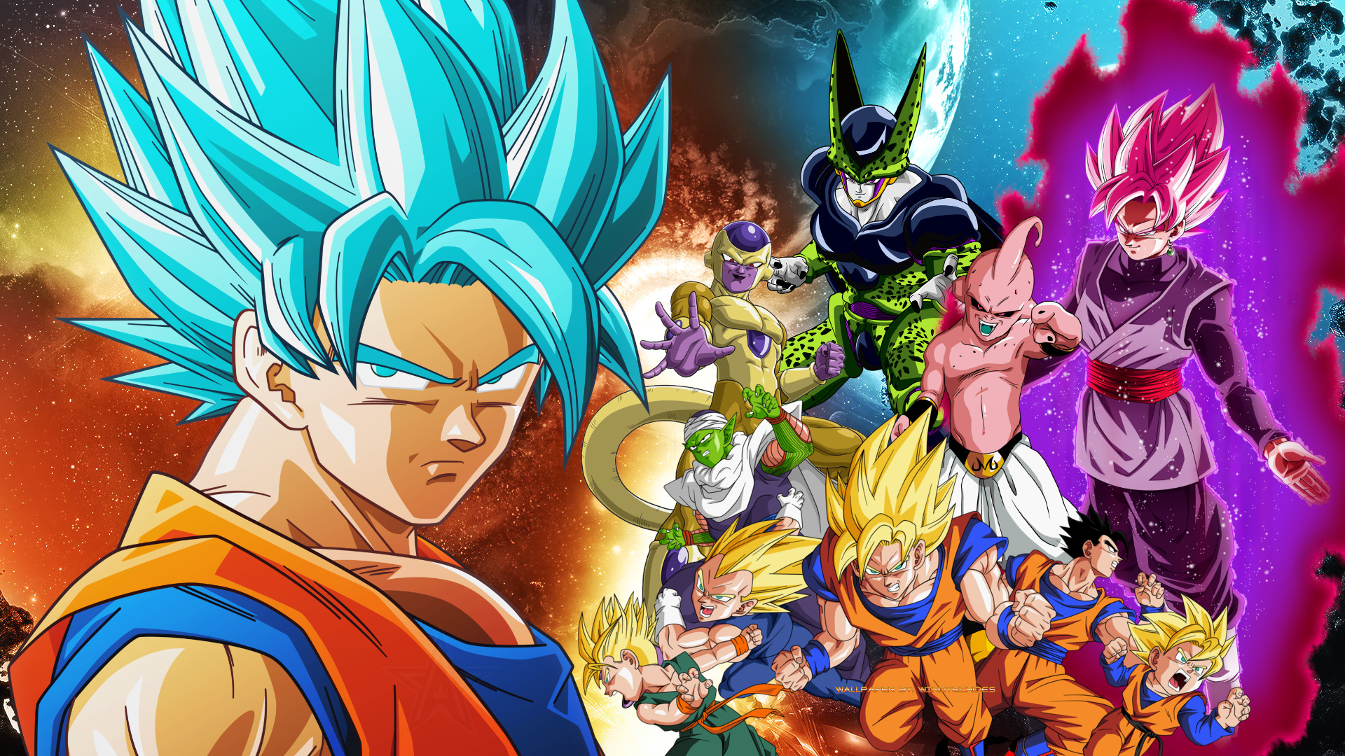 Dragon Ball Super Wallpaper 58 Images