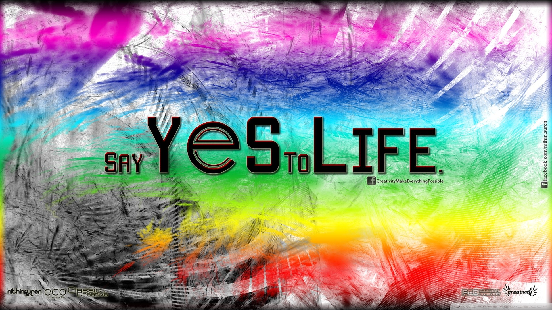 1920x1080 Yes to Life HD desktop wallpaper : High Definition