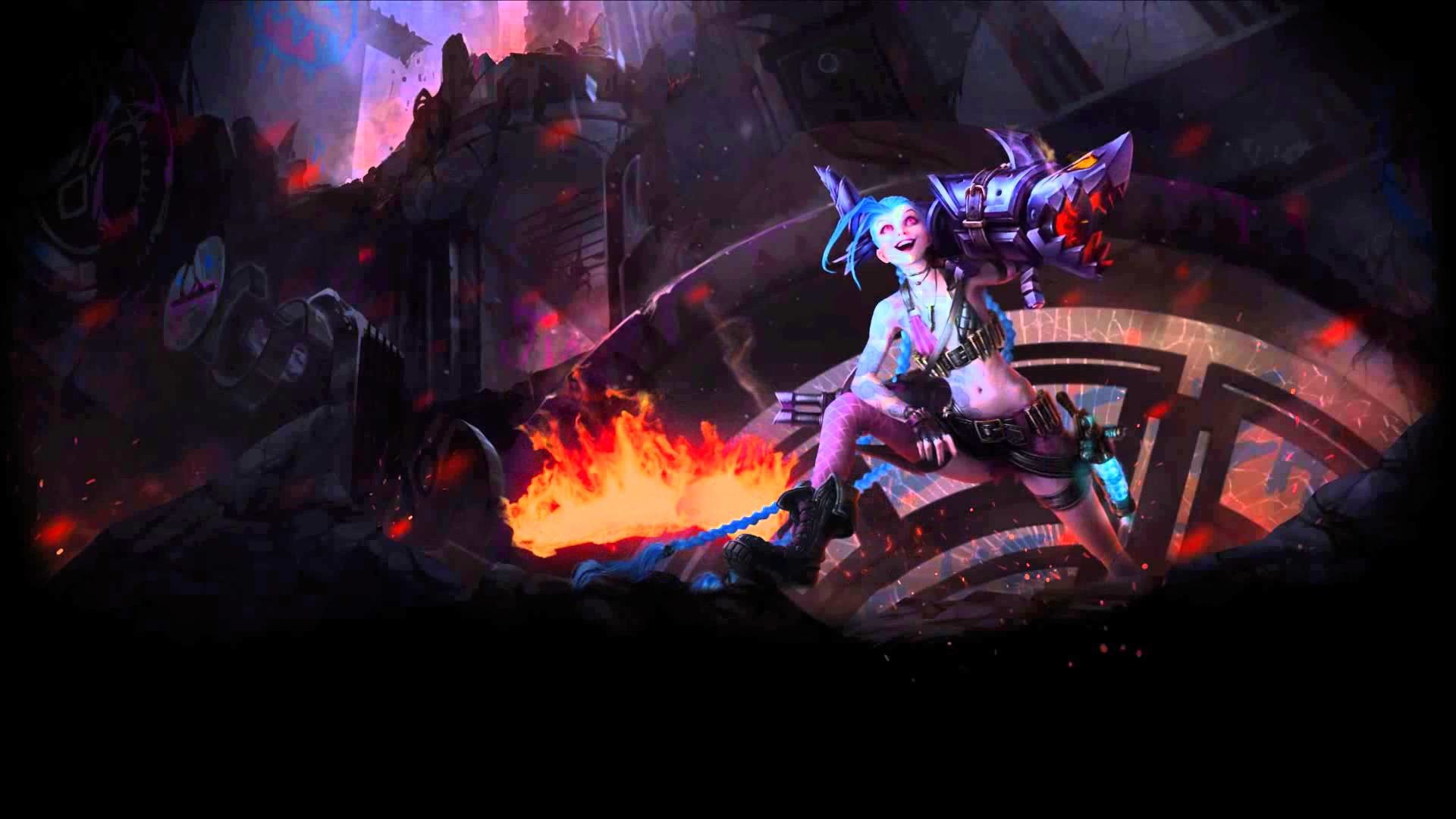 1920x1080 Jinx Animated Wallpaper