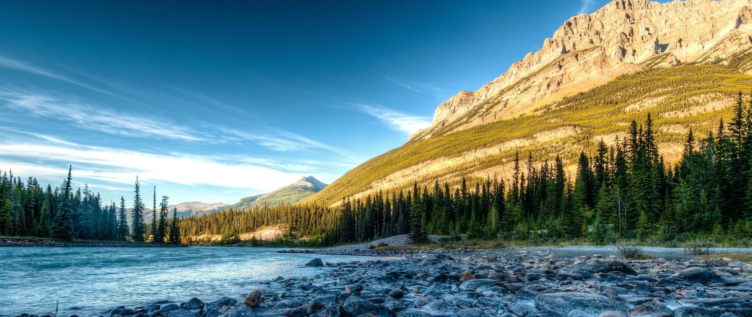 2560x1080 how wide are the rocky mountains wallpaper rocky mountains river stones how  wide are the rocky .