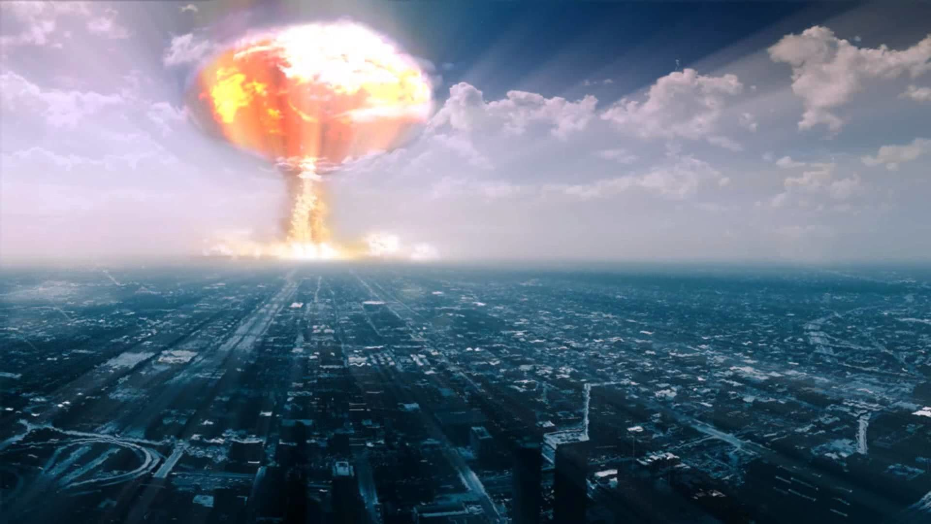 1920x1080 Hand Mushroom Cloud Blast Explosion Miniature dark nuclear. Nuclear  Wallpaper Image Collection