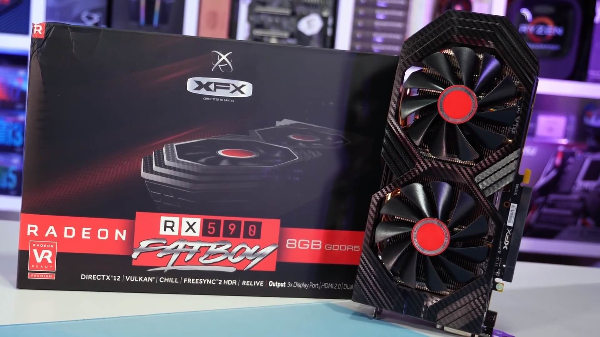 1920x1080 Then there's the higher-end models like the Gigabyte Aorus RX 580 XTR,  which we use for testing, and that particular model comes clocked at 1425  MHz, ...