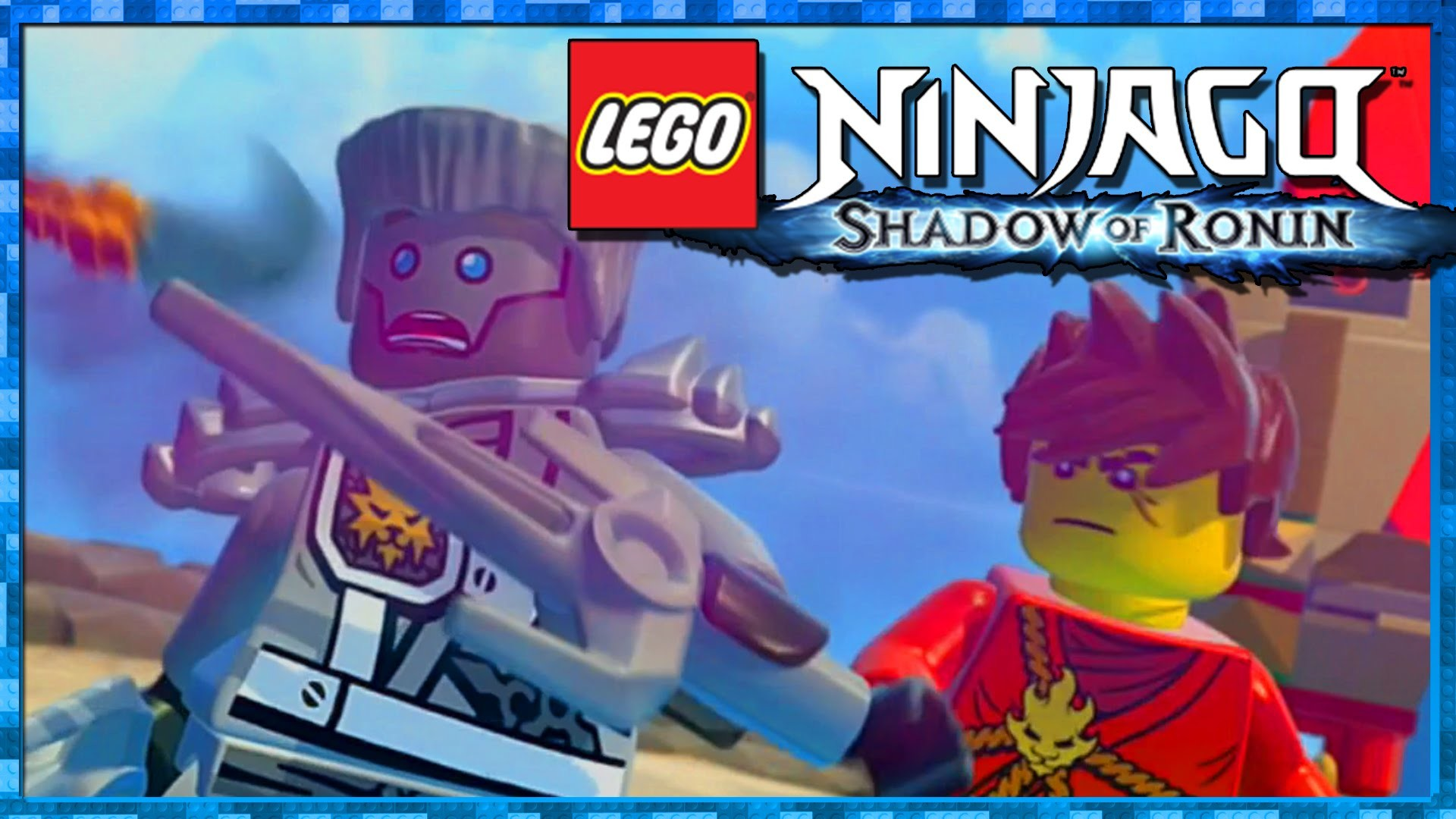 "1920x1080 Lego Ninjago Shadow of Ronin Part 2 ""Spinjago Chase"" PS Vita / 3DS 1080p  Gameplay Walkthrough - YouTube"
